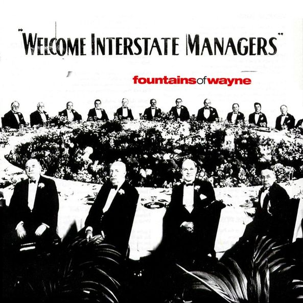 The cover of Fountains of Wayne's Welcome Interstate Managers