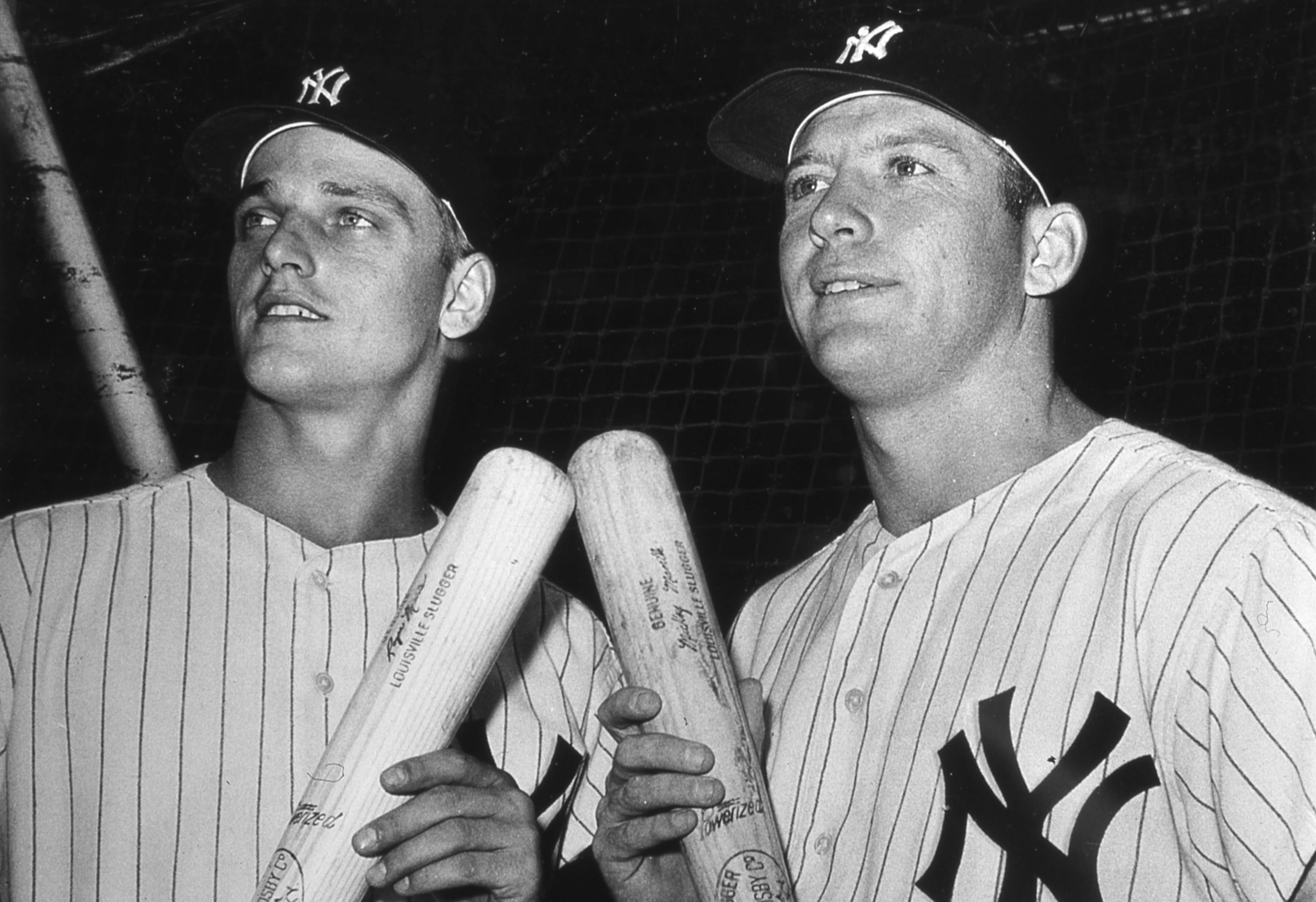 Maris & Mantle At Yankee Stadium