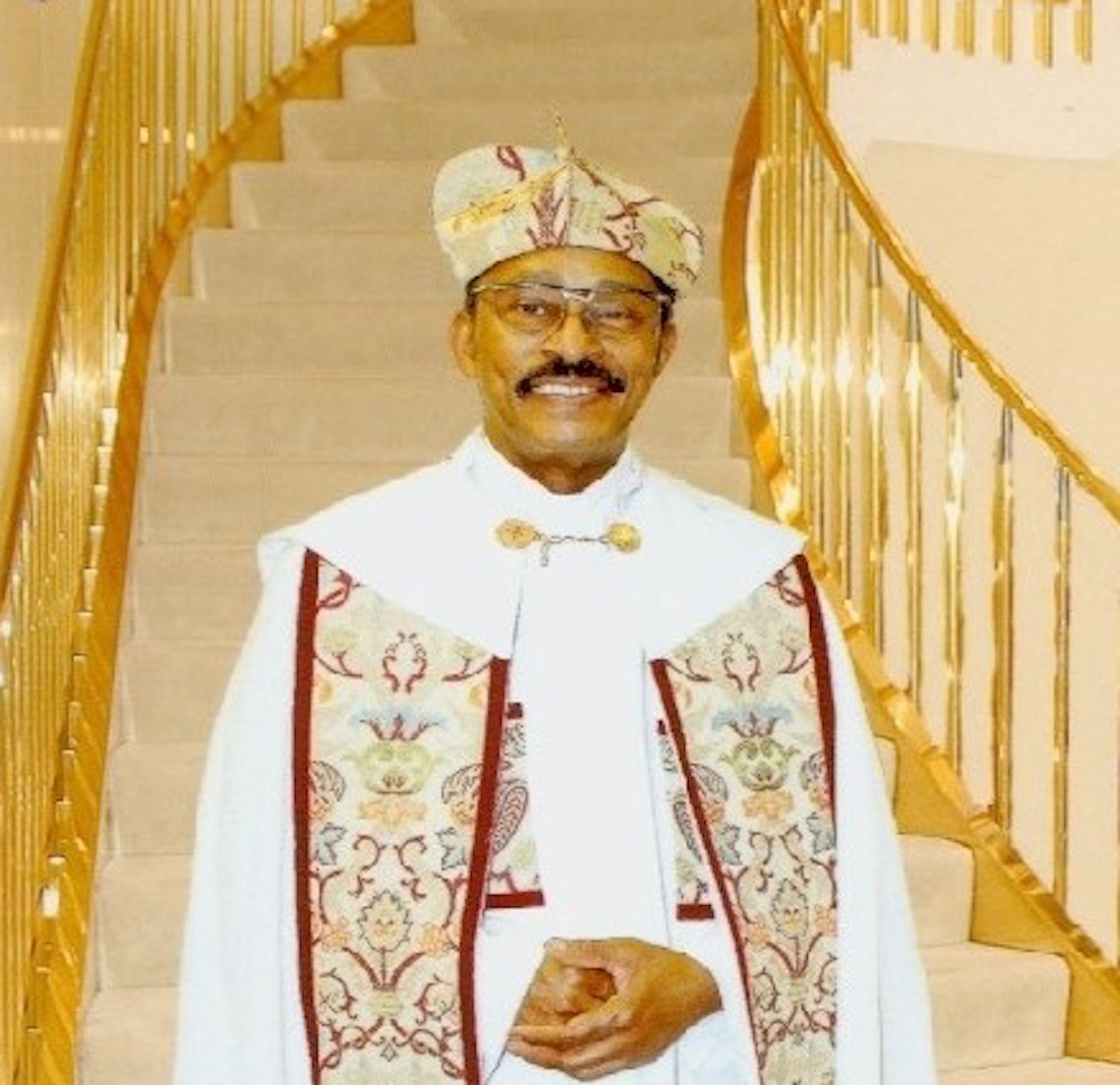 Archbishop Lucius Hall, founder and pastor of First Church of Love and Faith, 2140 W. 79th St.