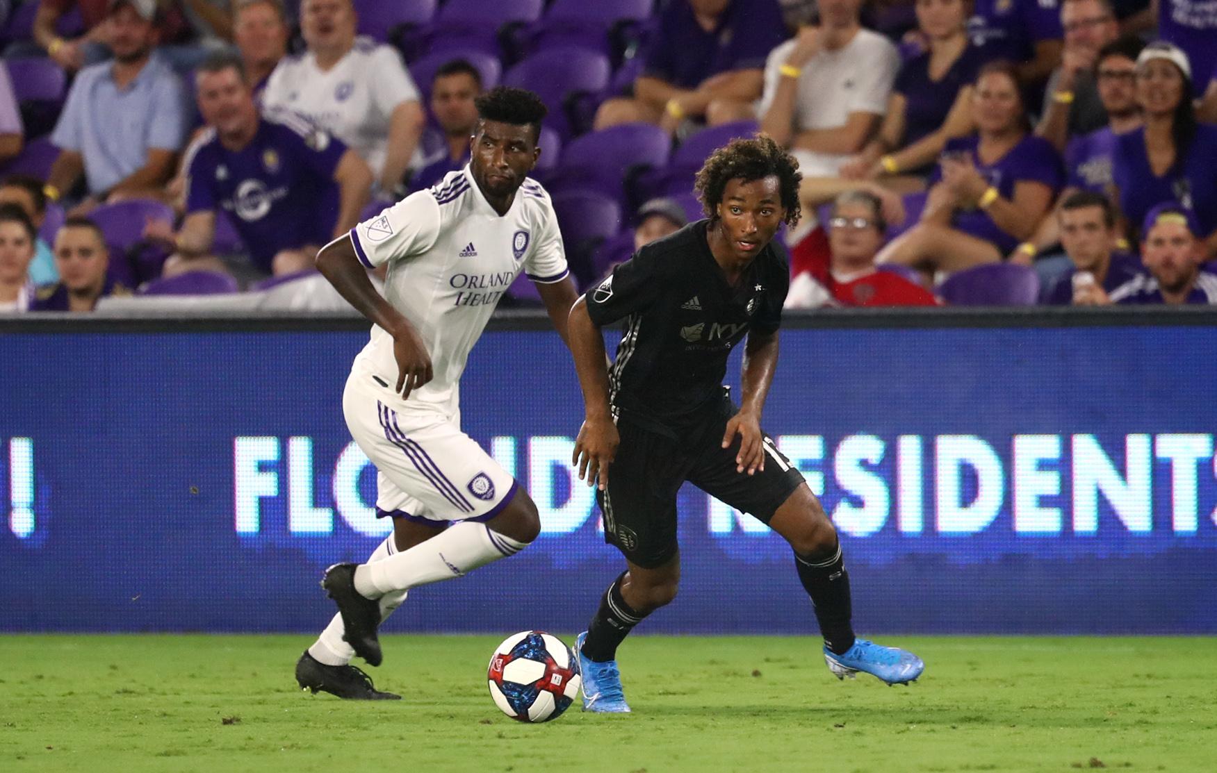 MLS: Sporting Kansas City at Orlando City SC