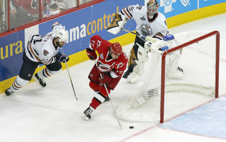 Edmonton Oilers v Carolina Hurricanes: Game 1