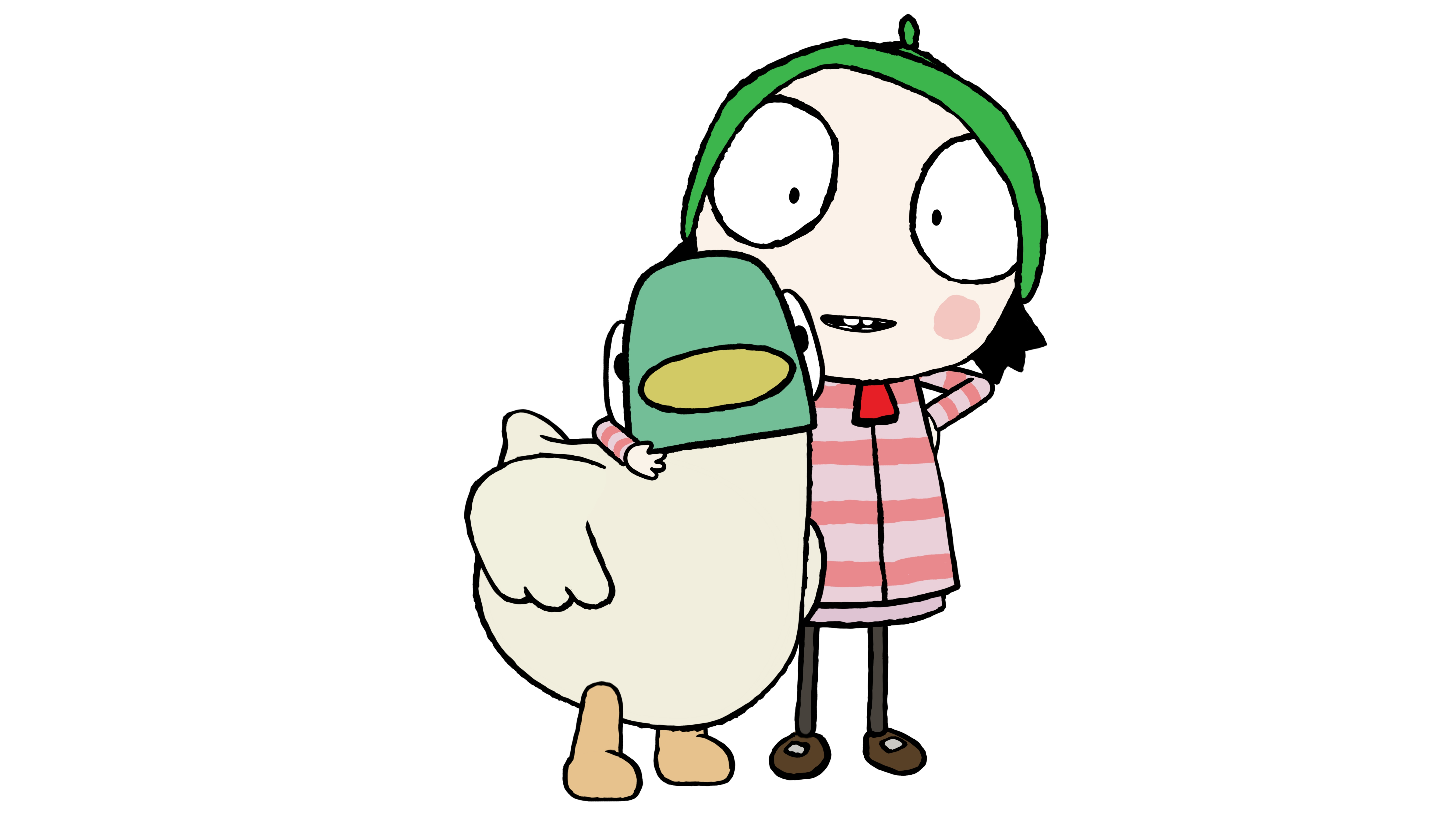 Sarah and Duck promotional image