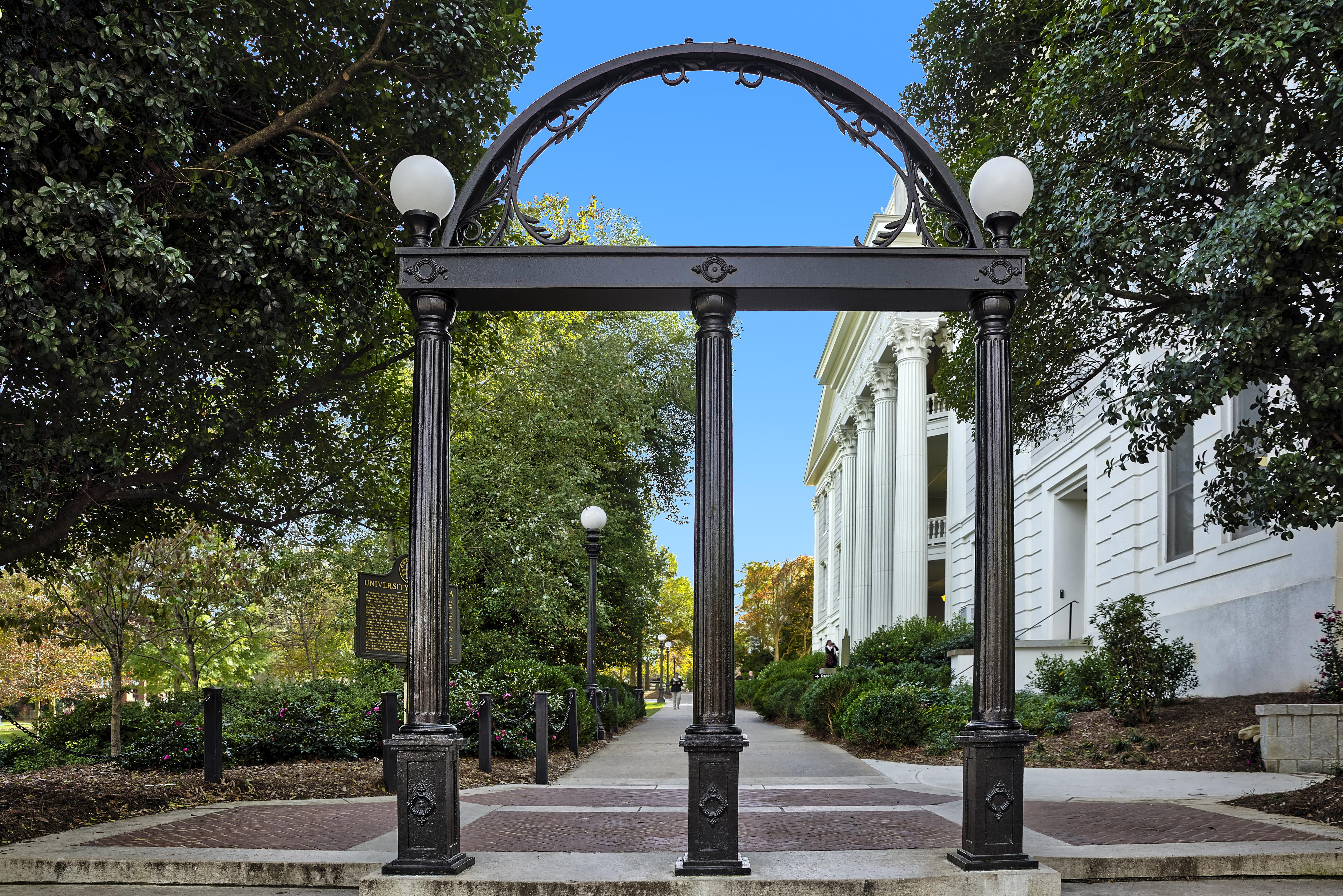 The Georgia Arch, University of Georgia...
