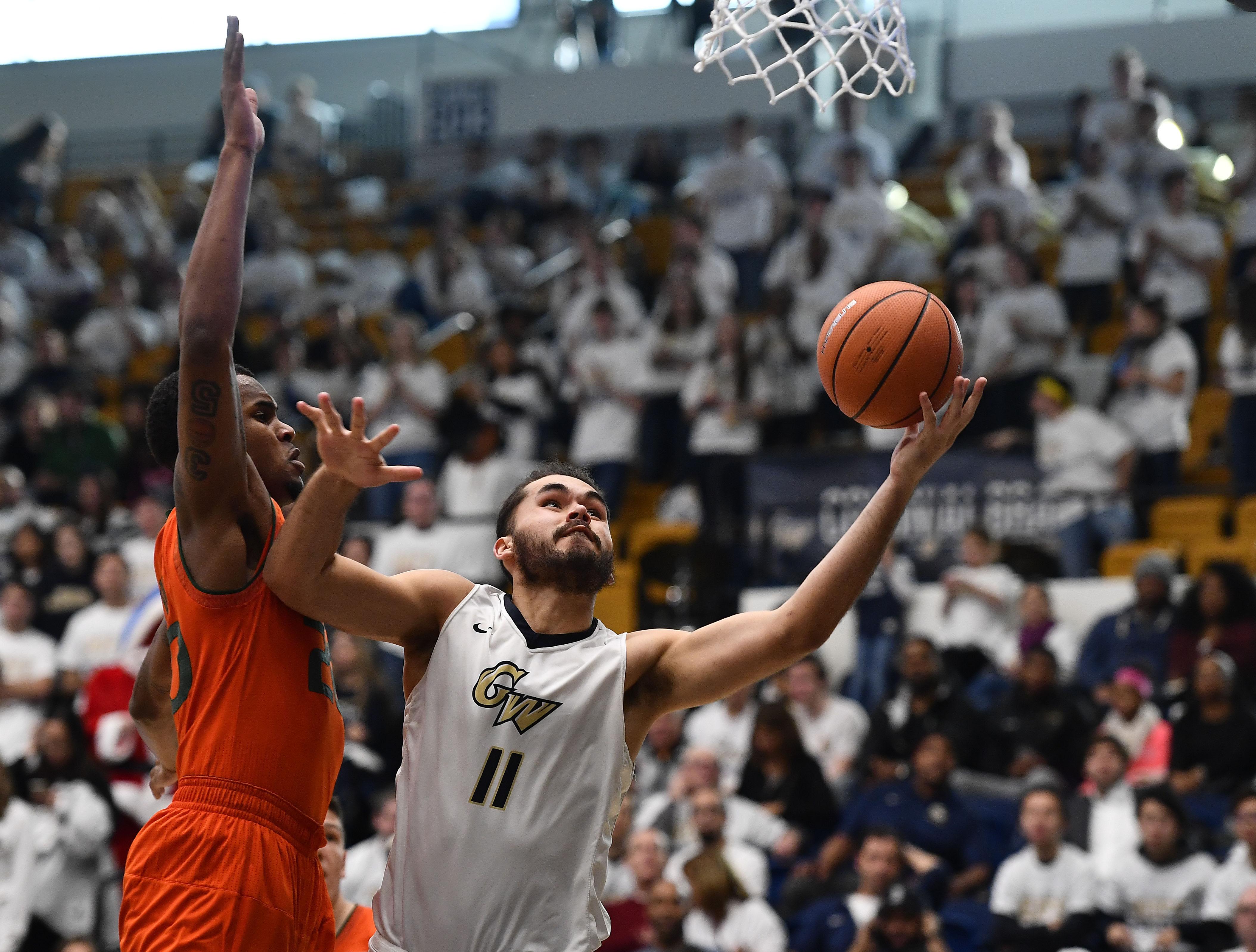NCAA Basketball: Miami at George Washington