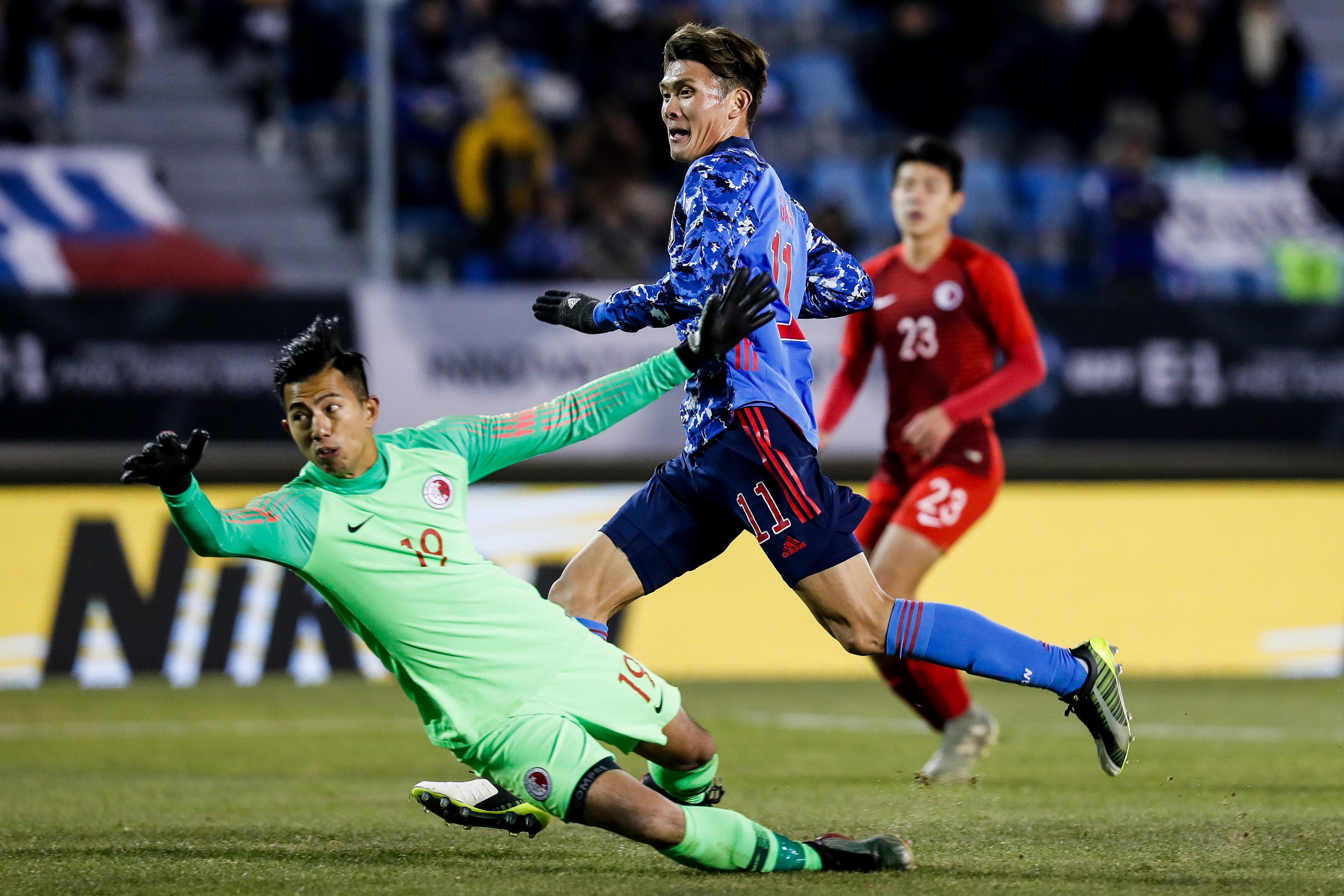Japan v Hong Kong - Men's EAFF E-1 Football Championship