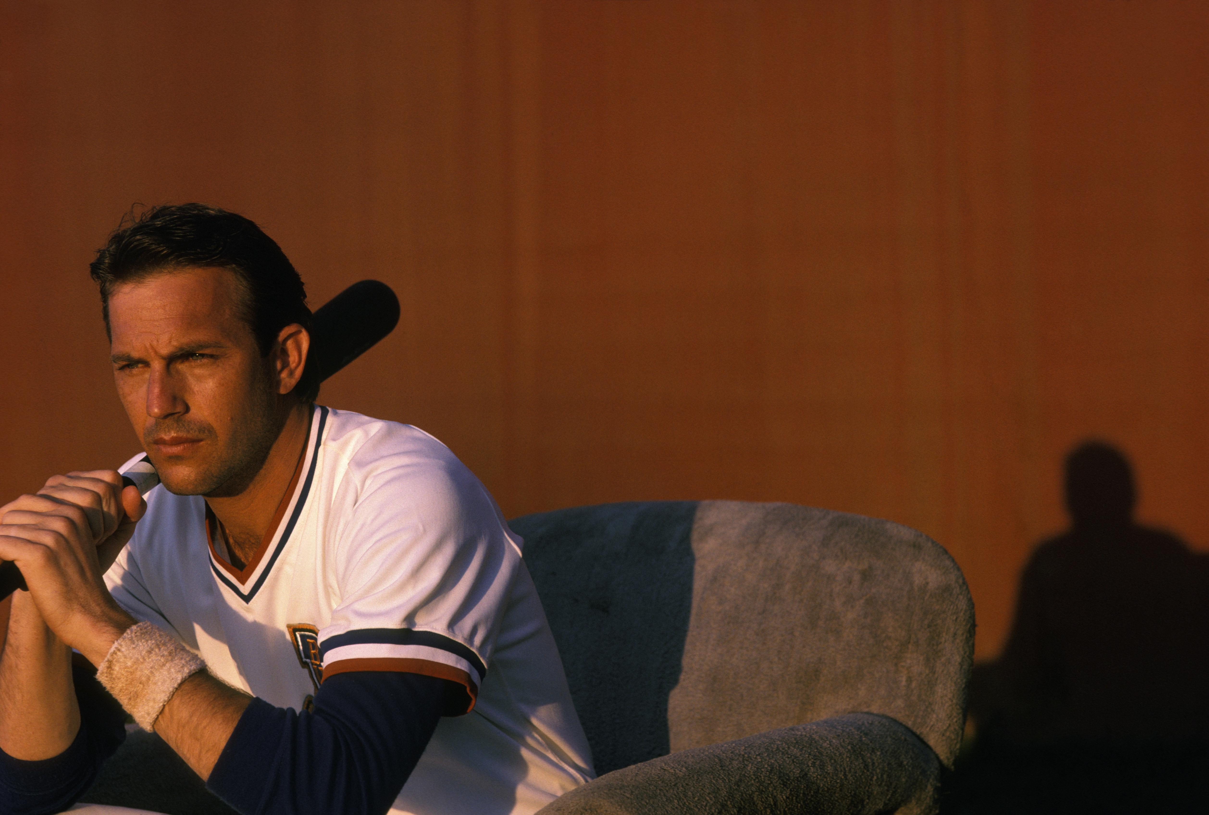 Kevin Costner dans 'Bull Durham'