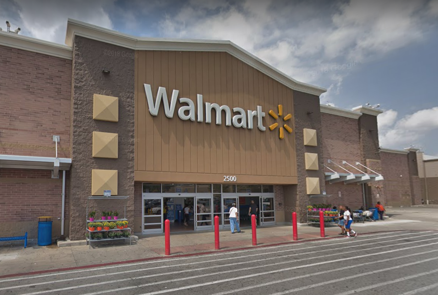 Two employees at an Evergreen Park Walmart store who got sick with the coronavirus have died, store officials confirmed Saturday.