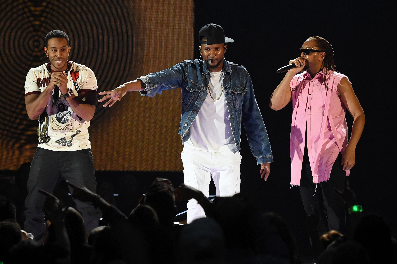 Ludacris, Usher and Lil Jon