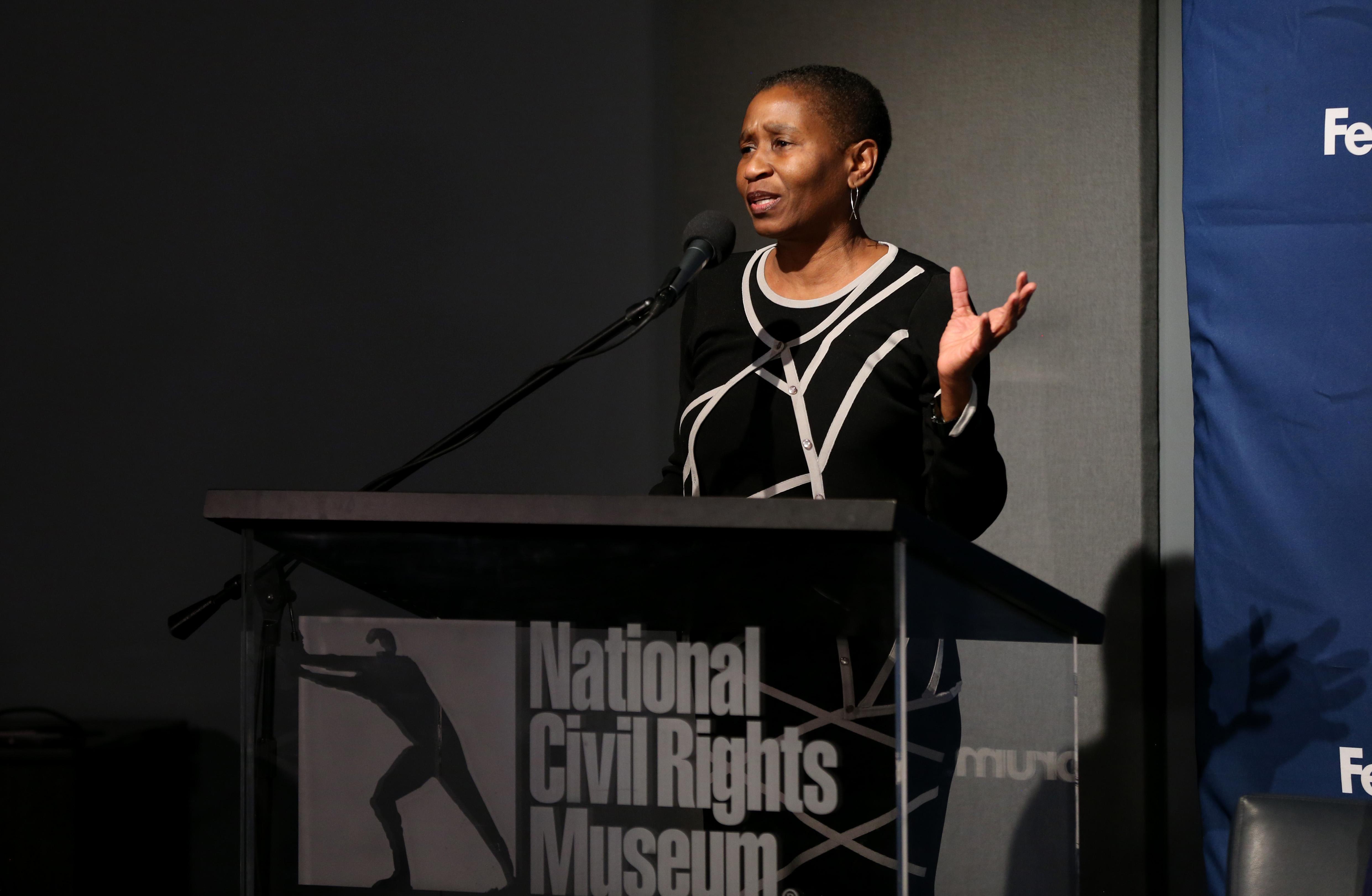 MLK体育遗产奖获得者-国家民权博物馆参观