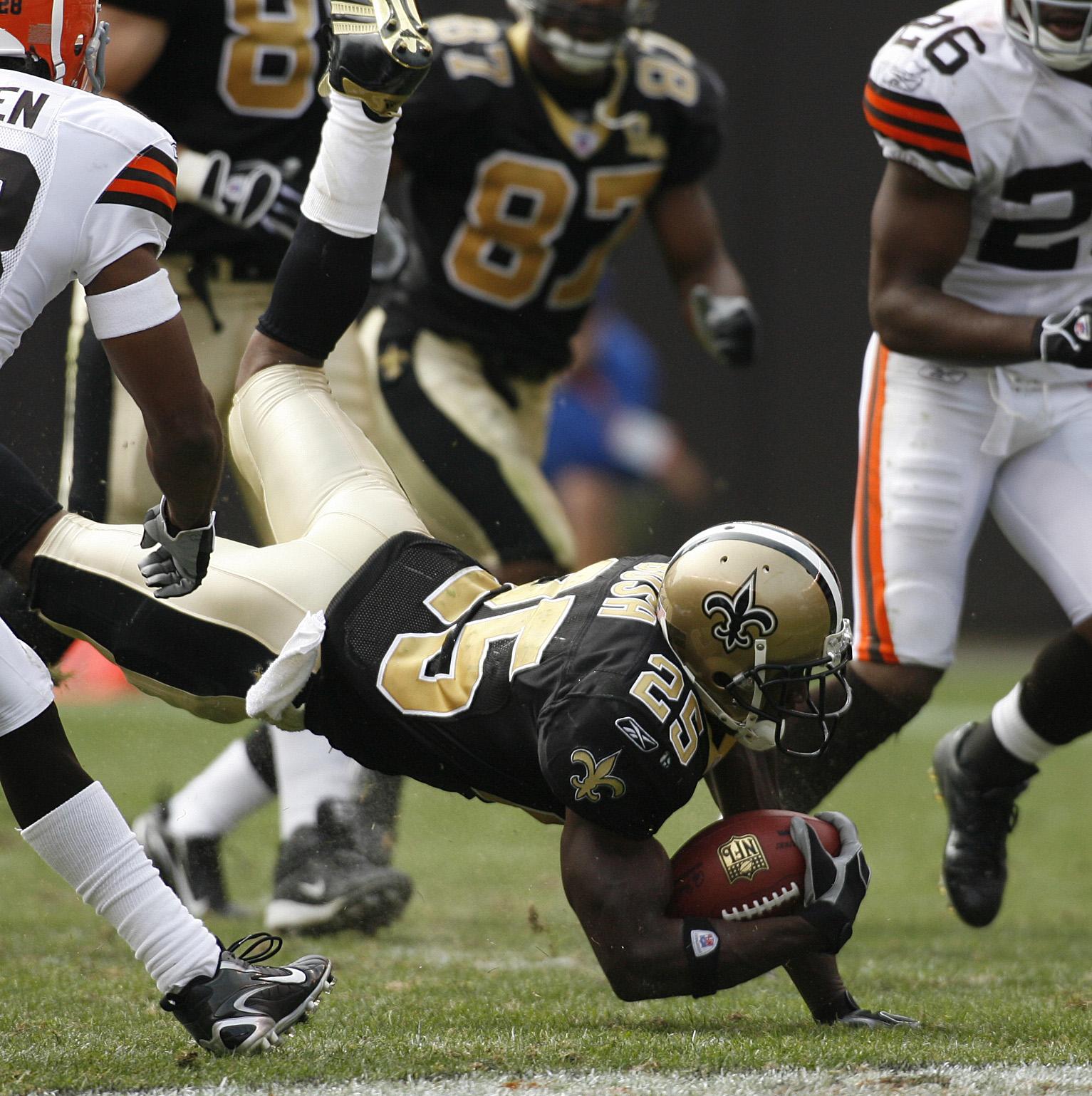 NFL: Saints at Browns 19-14