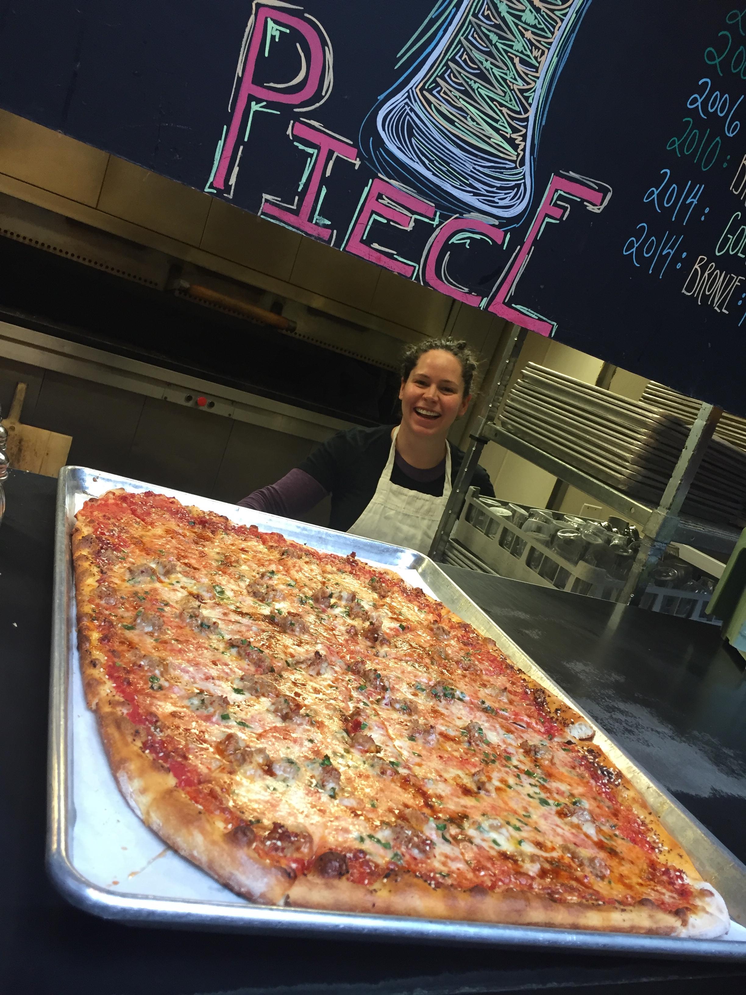 Steph Izard/Piece Pizza
