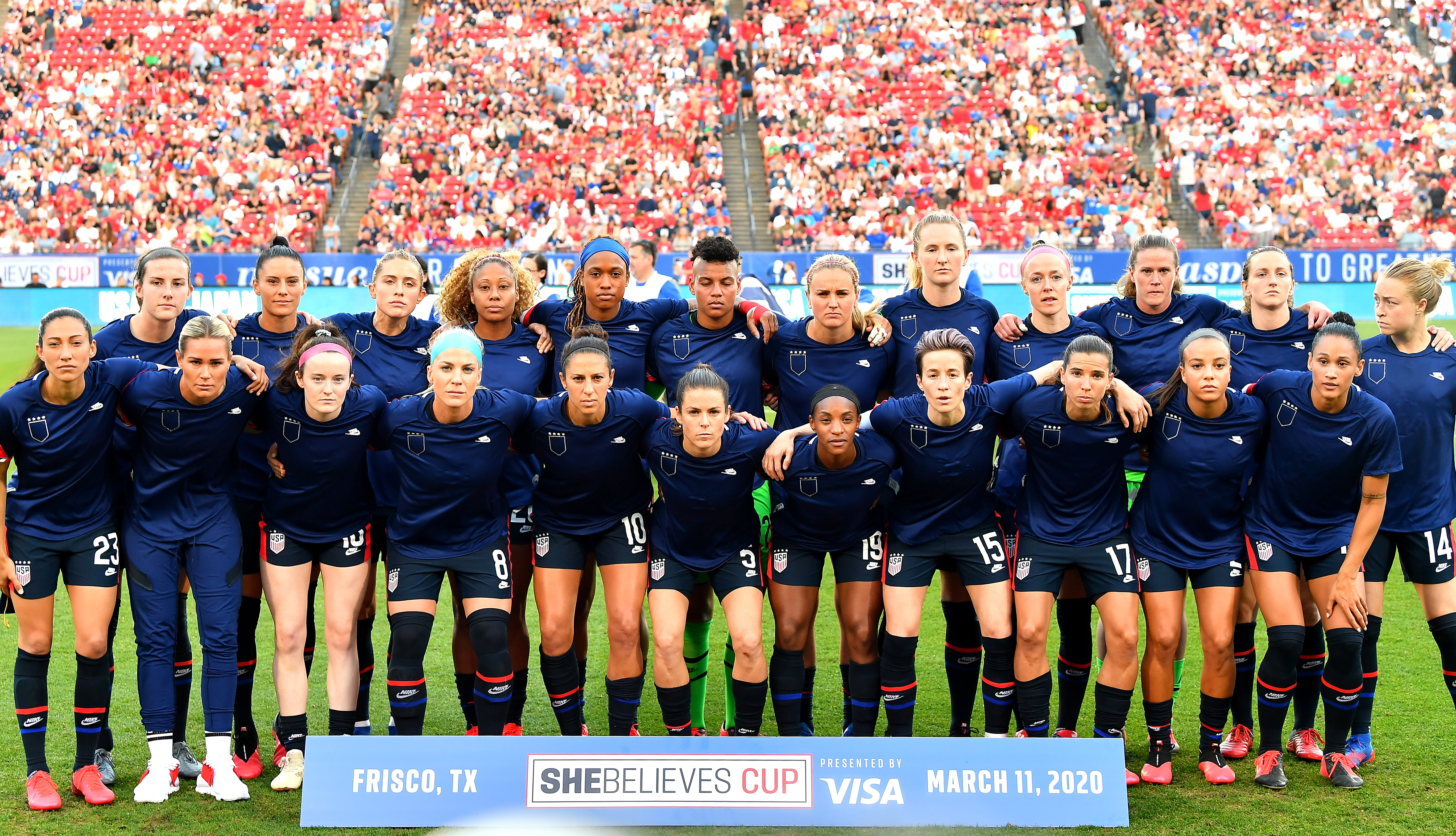 2020 Shebelieves Cup  - 美国v日本