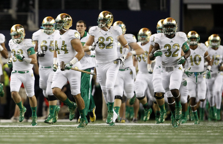 Arizona State v Notre Dame football