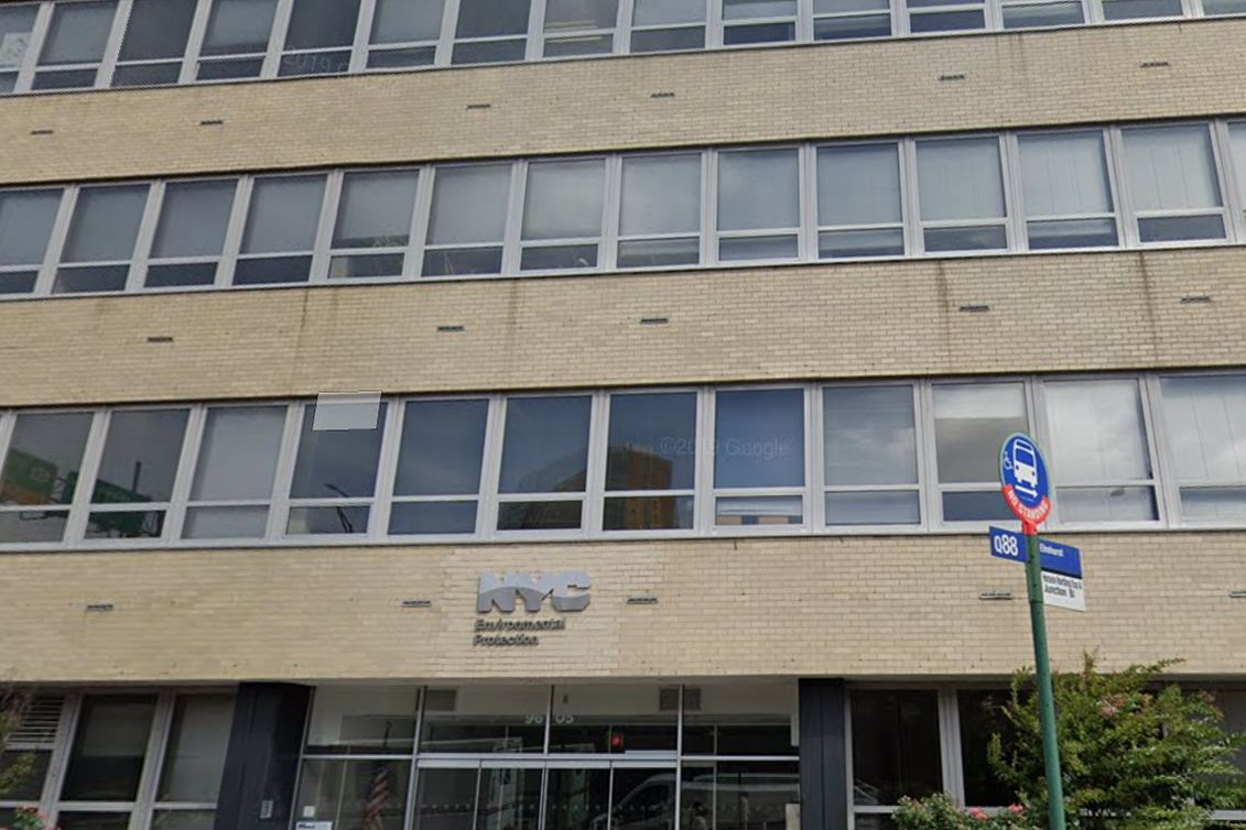 The Department of Environmental Protection's Elmhurst, Queens headquarters.