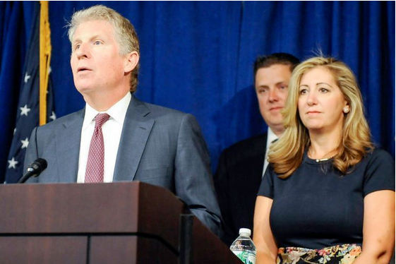Cy Vance and Diana Florence