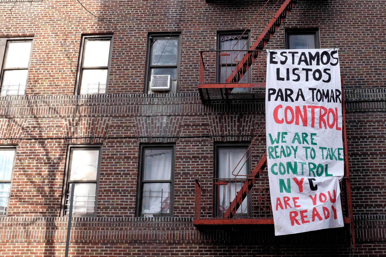 Northwest Bronx tenant protest