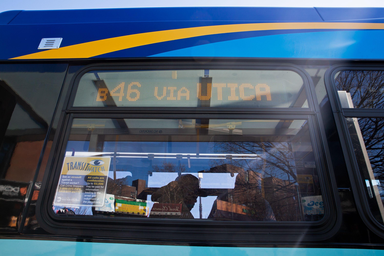 Utica Avenue express bus