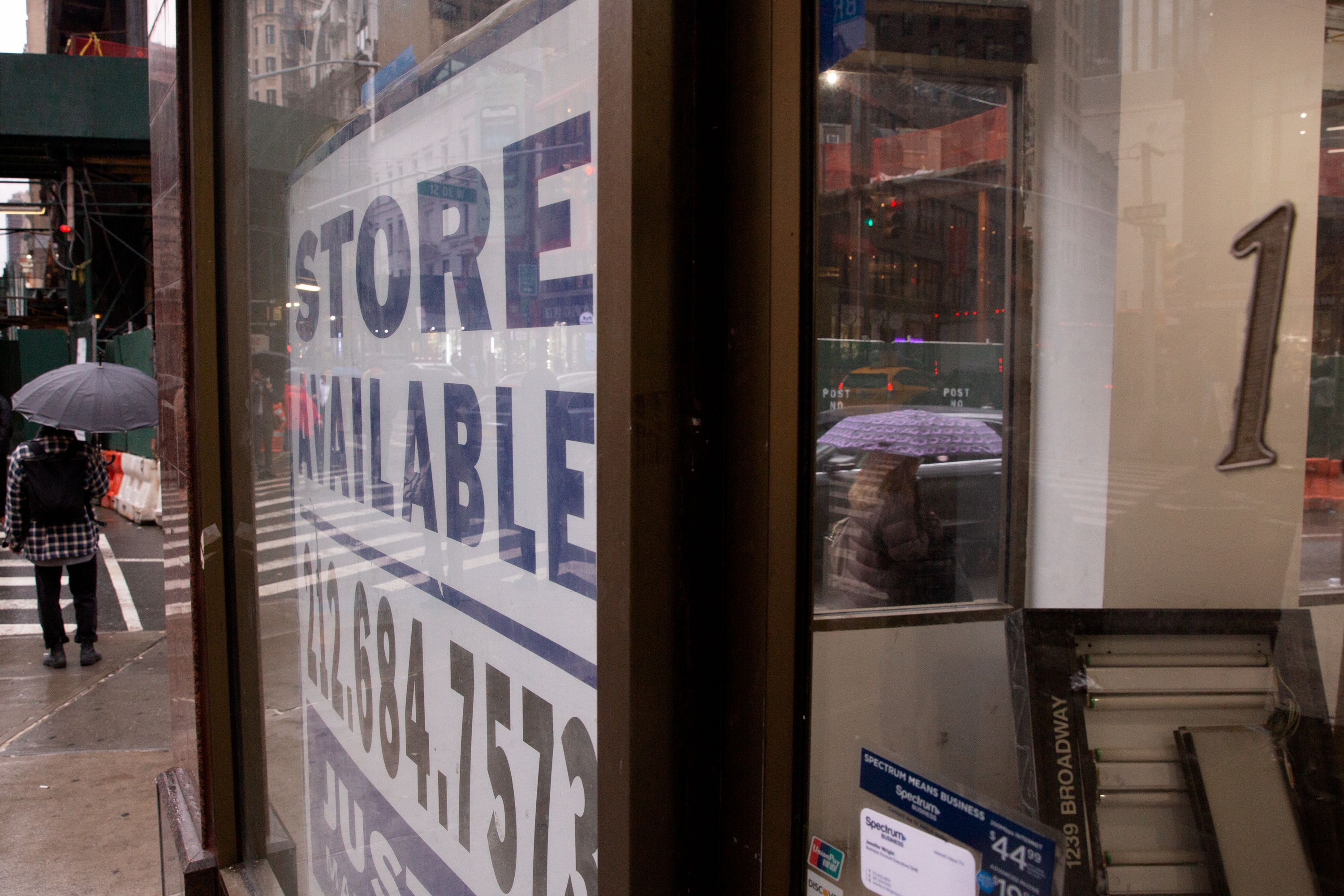 Vacant storefront
