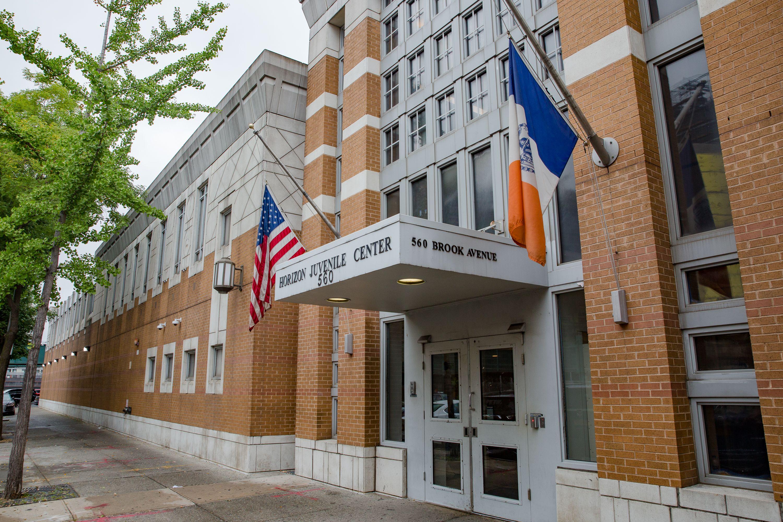 The Horizon Juvenile Center in the South Bronx.