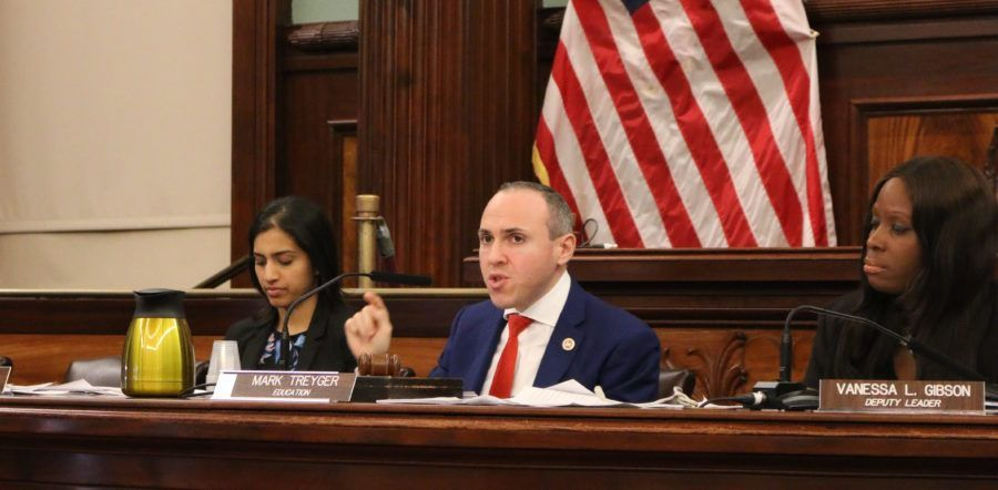 City Councilmember Mark Treyger asks questions during a recent hearing.