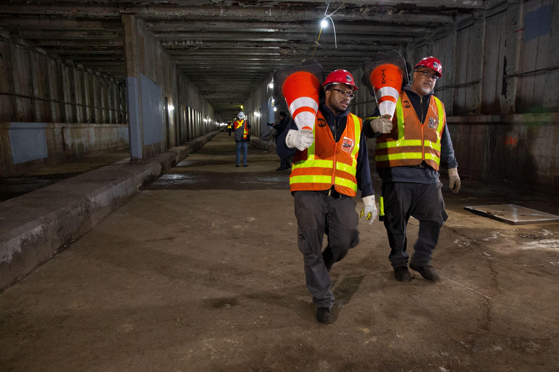 Second Avenue Subway Tunnel