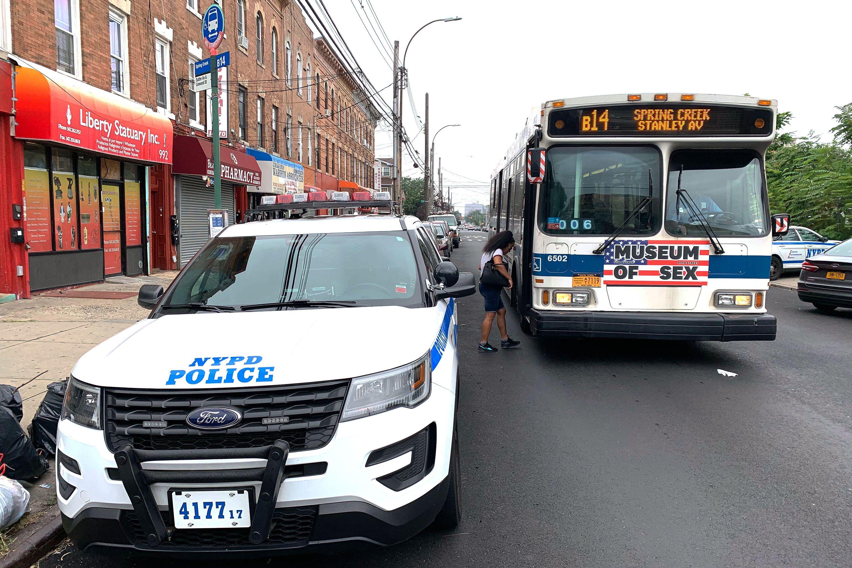 75th Precinct Bus Stop