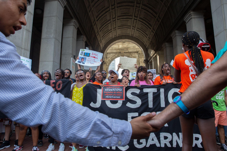 Eric Garner Anniversary March