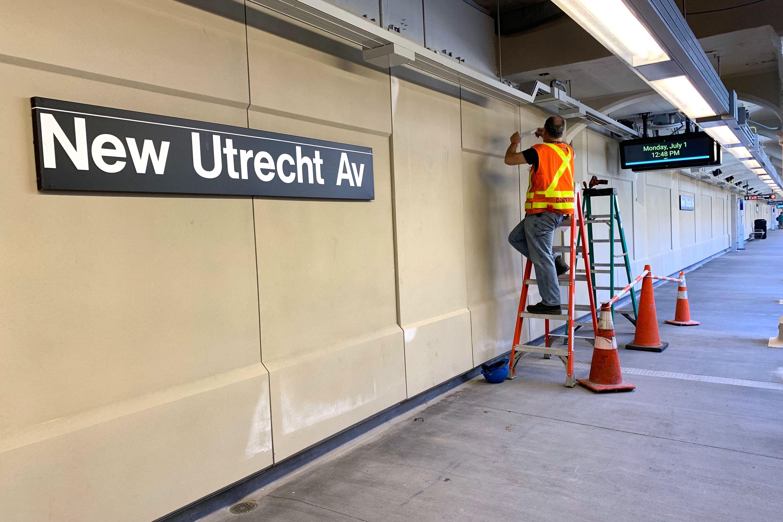 New Utrecht Station