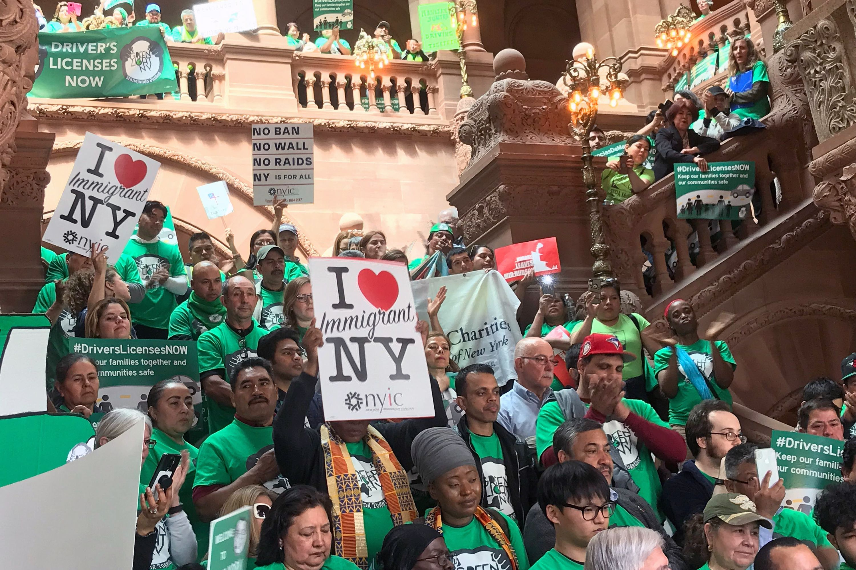 #GreenLightNY Rally