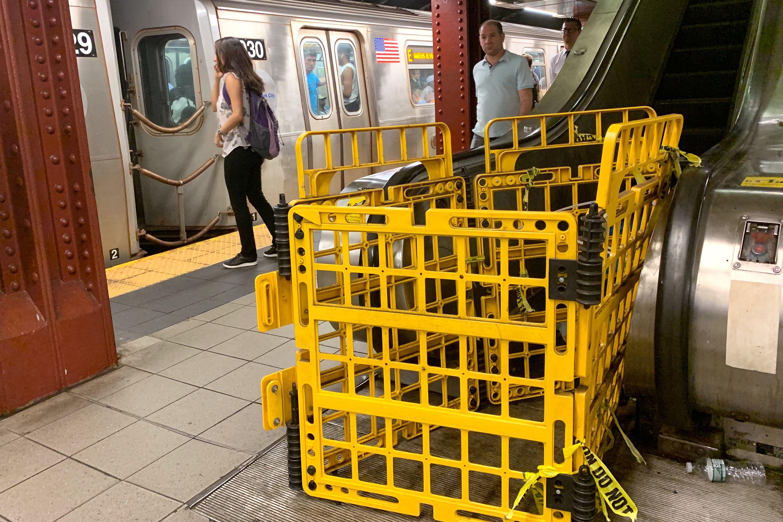 53rd Street Escalator