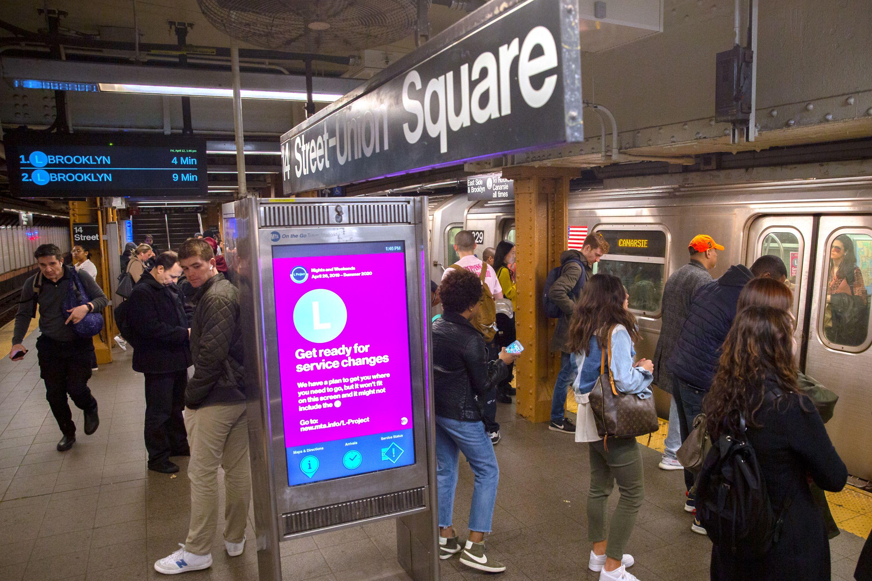 L Train Union Square