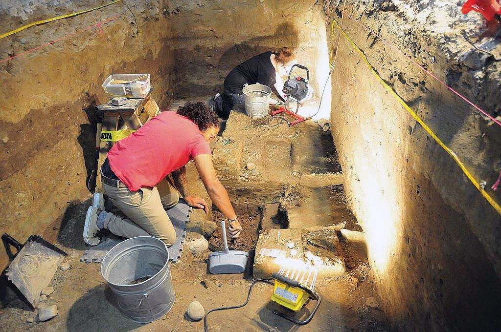 African Burial Ground Excavation