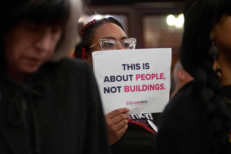 Rikers Island hearing