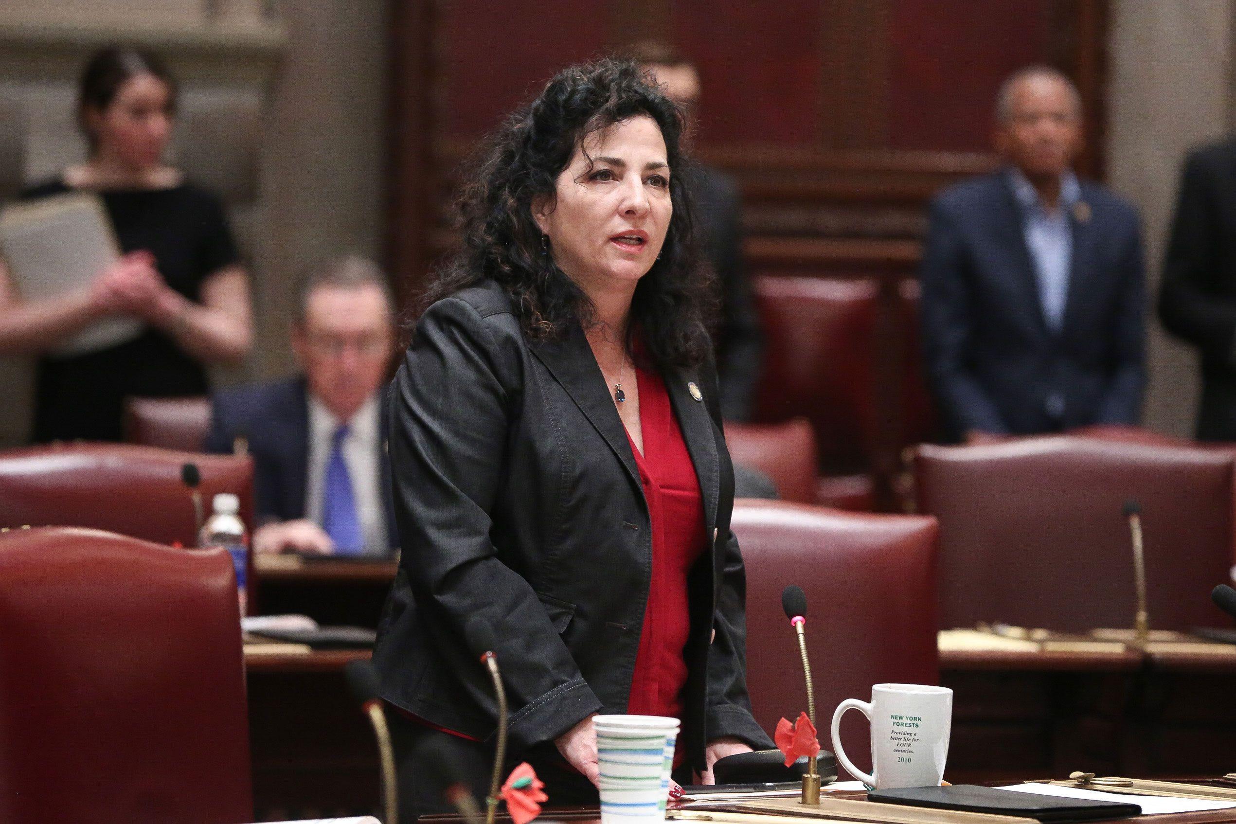 State Sen. Diane Savino (D-Brooklyn and Staten Island)