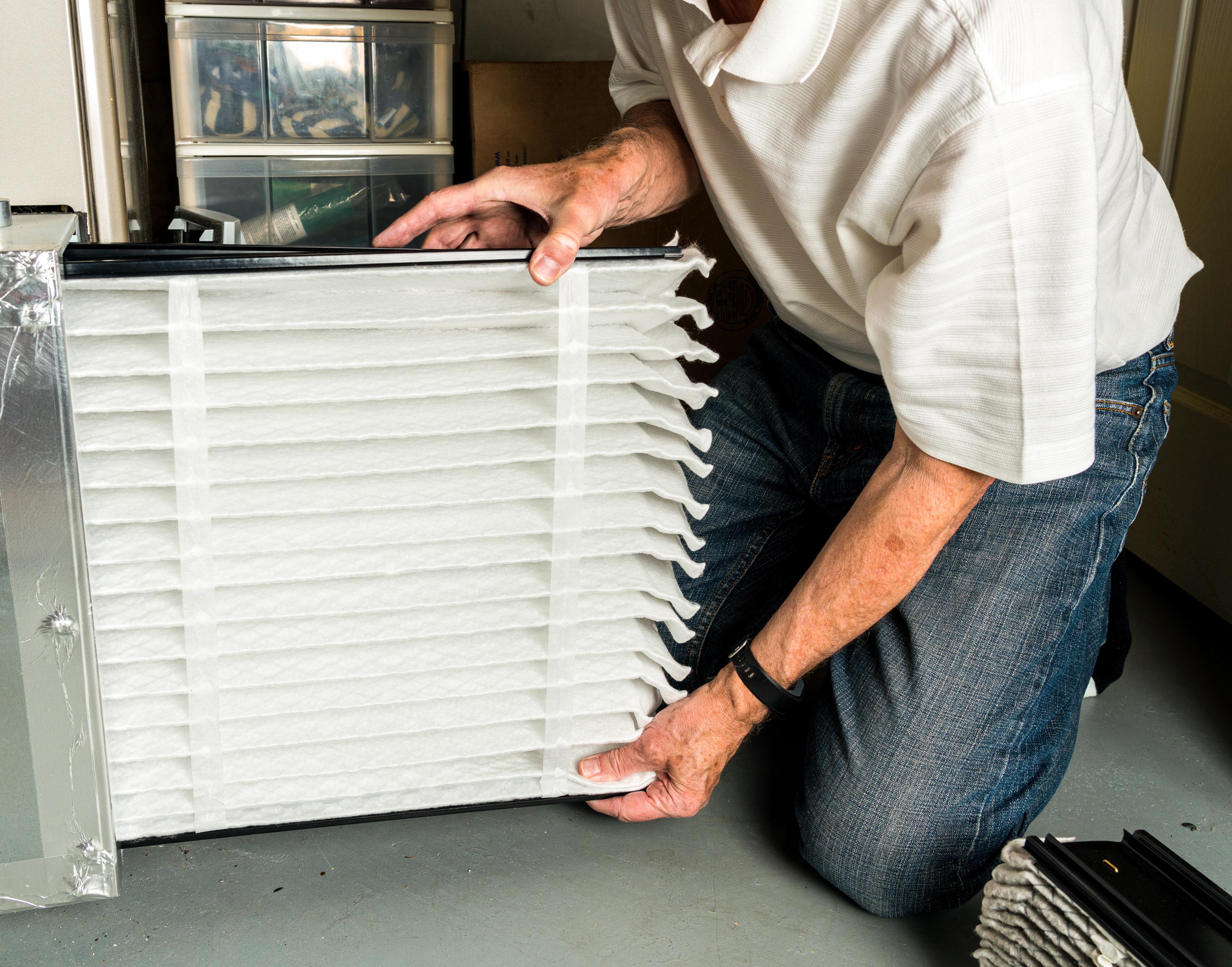 Pleated HVAC Filter