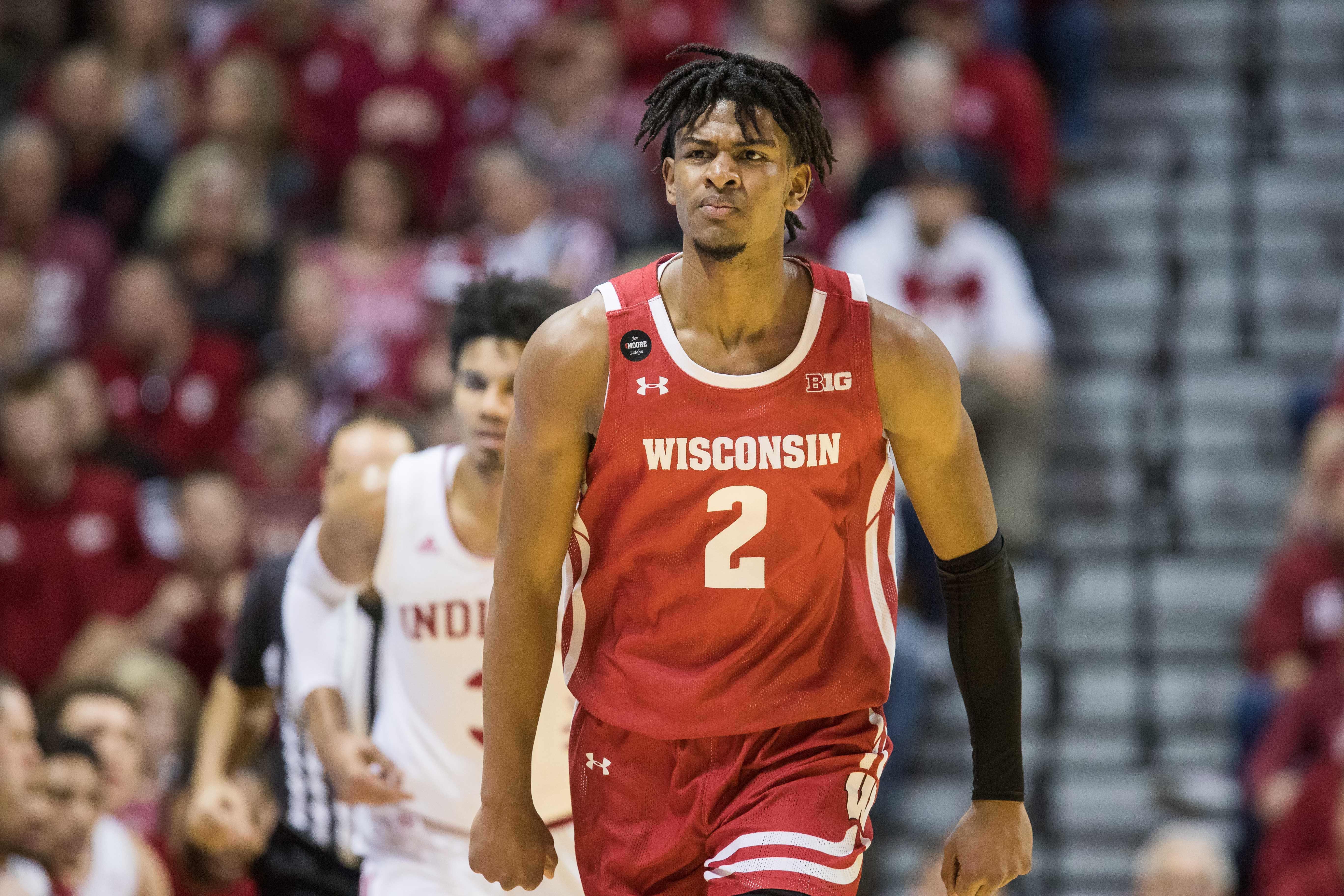 NCAA Basketball: Wisconsin at Indiana