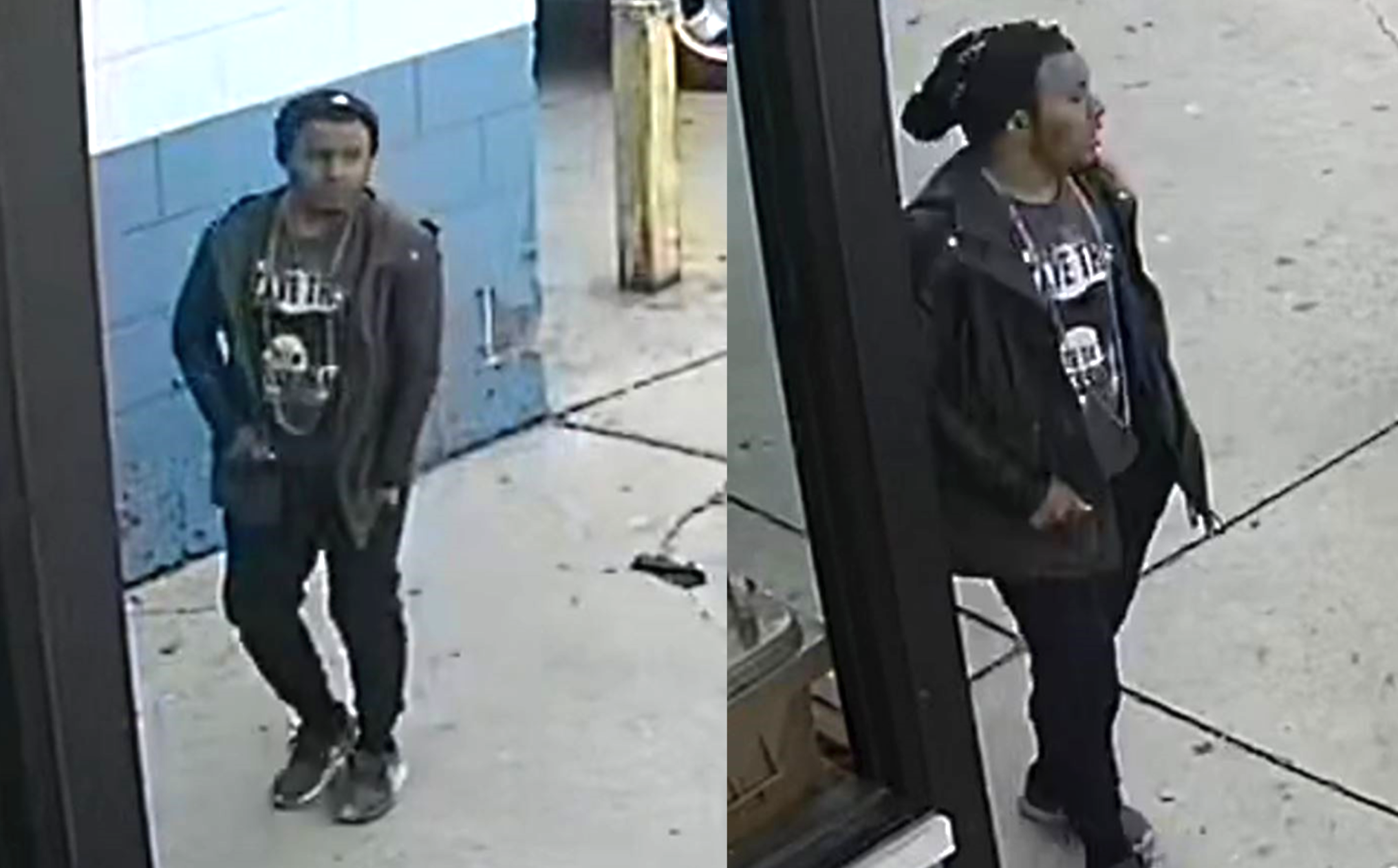 Images released by Chicago police of a man wanted for allegedly exposing himself April 5, 2020, in the 4200 block of West North Avenue.