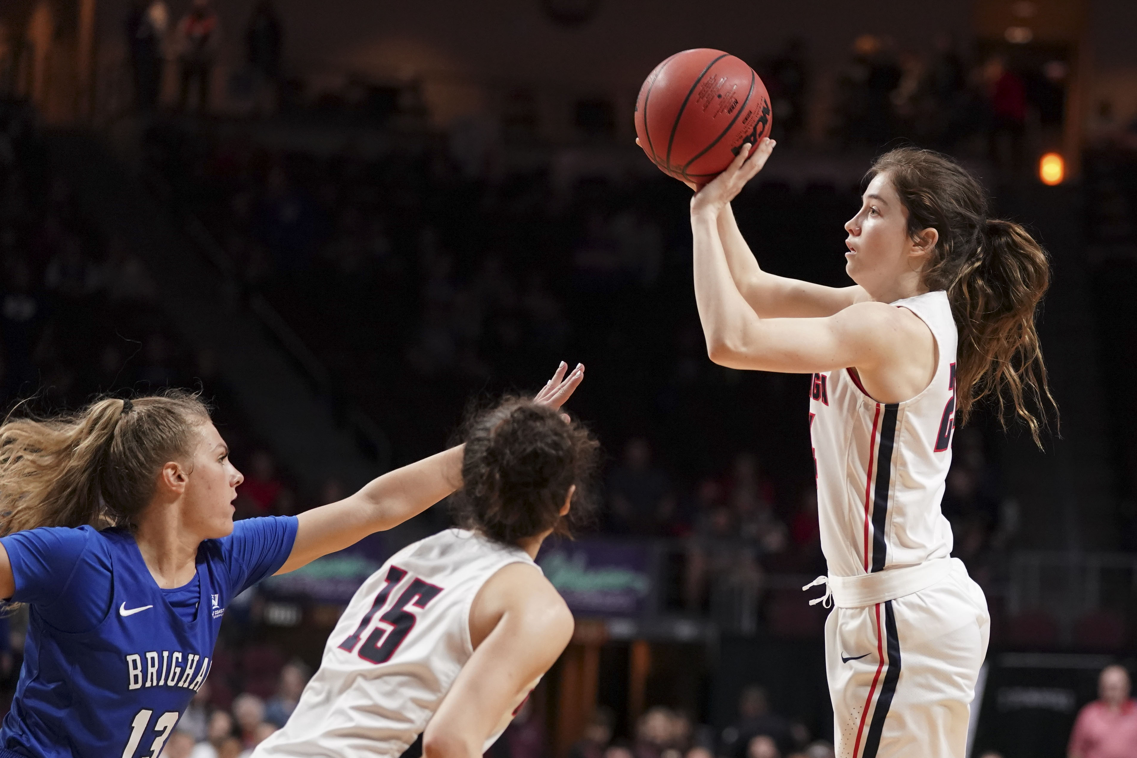 NCAA Womens Basketball: West Coast Conference Tournament-Gonzaga vs BYU