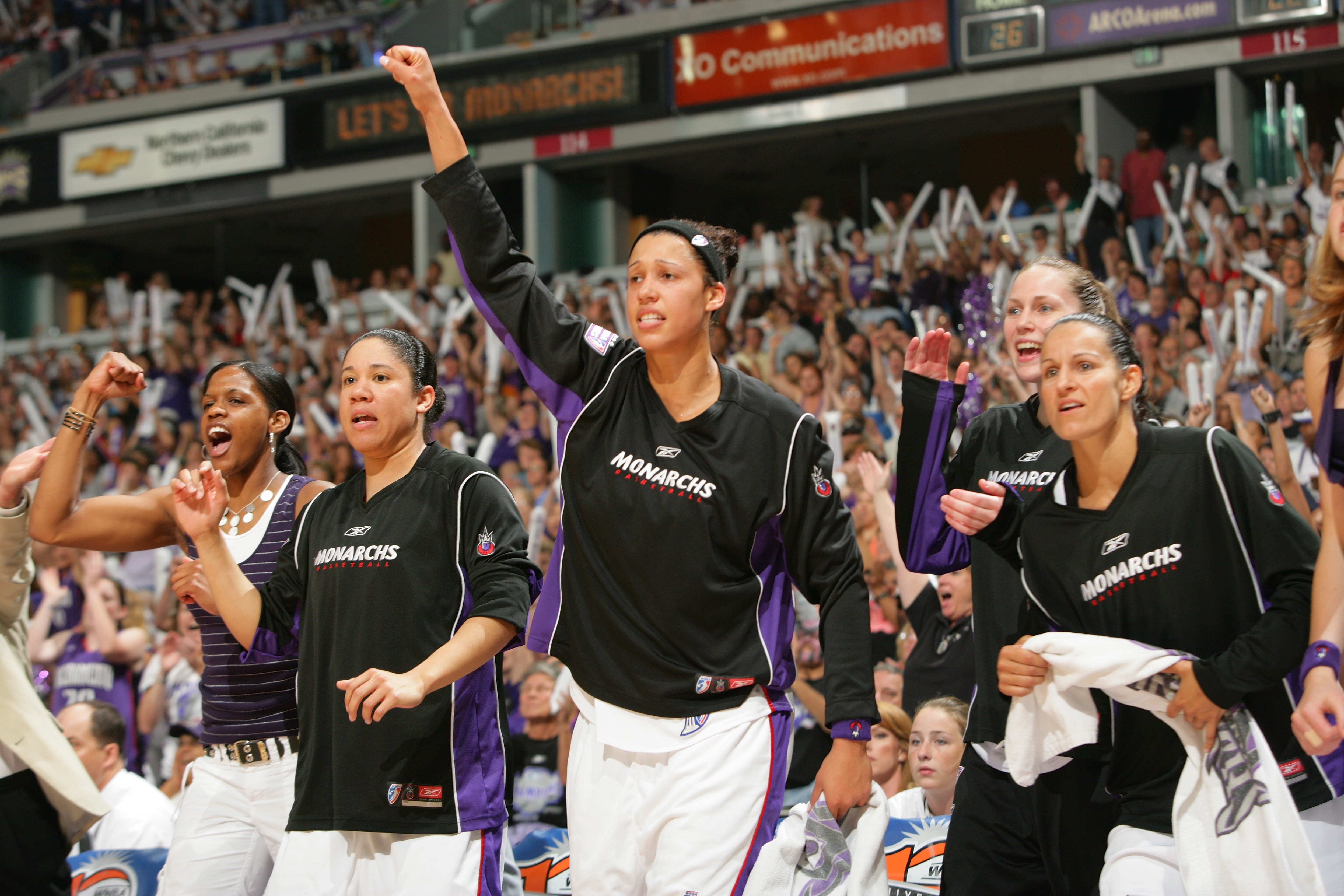WNBA Finals Game 4: Detroit Shock v Sacramento Monarchs
