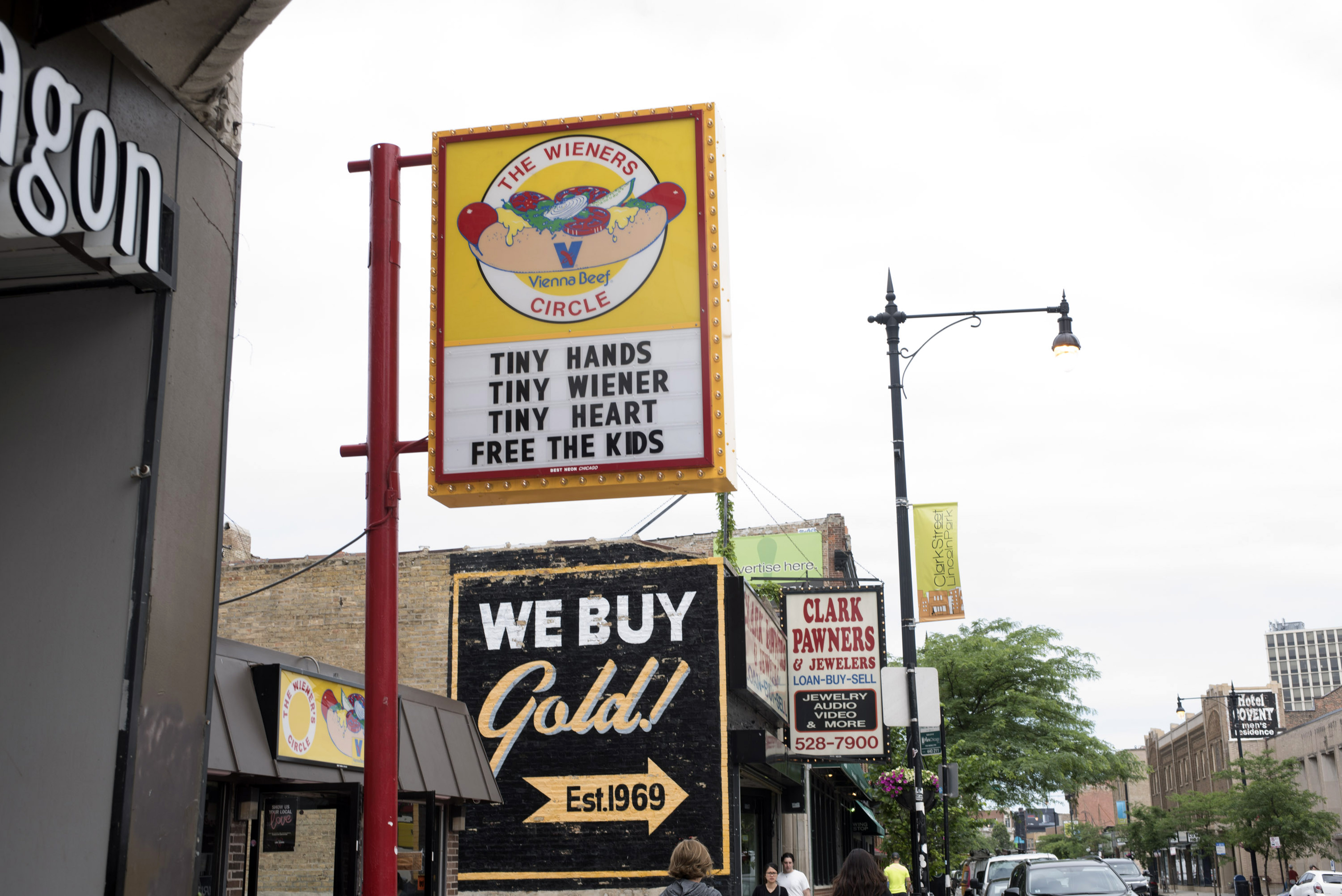 Outside The Wieners Circle