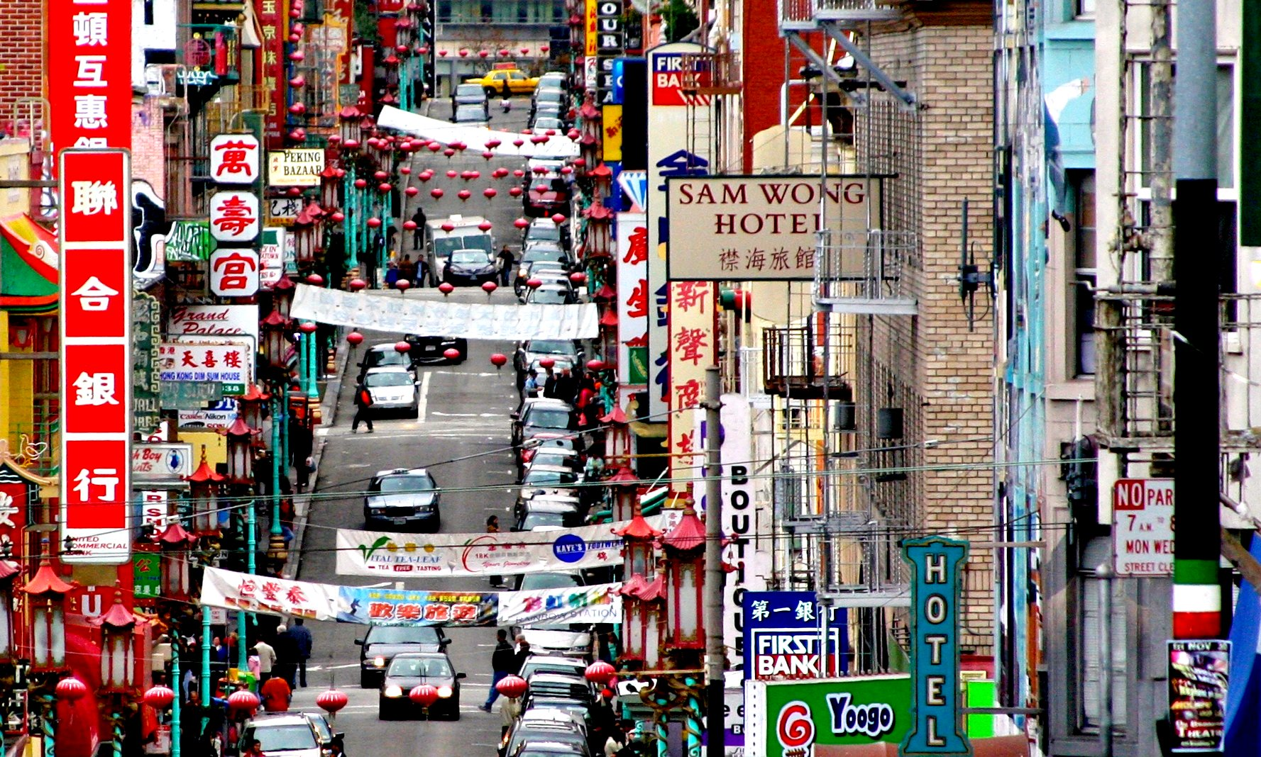 View of San Francisco Chinatown