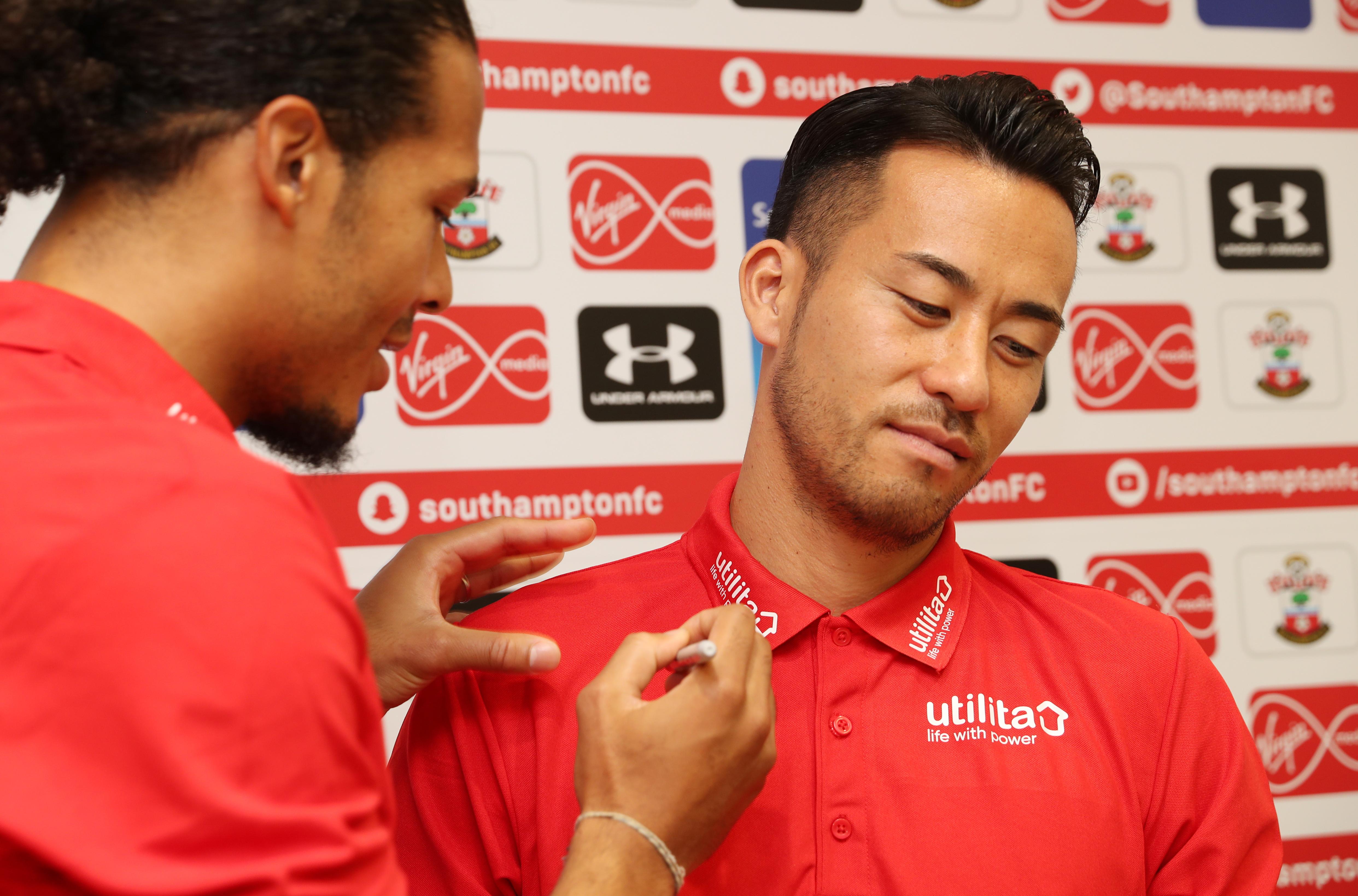 Southampton FC Virgil Van Dijk May Yoshida quiz