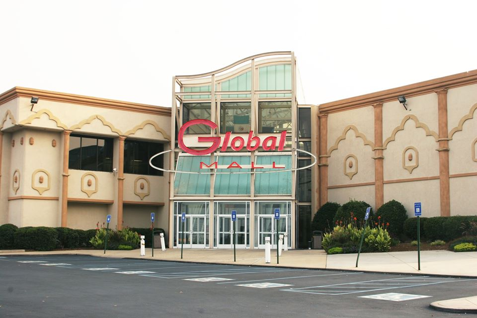 Entrance to Global Mall on Jimmy Carter Boulevard in Norcross, GA