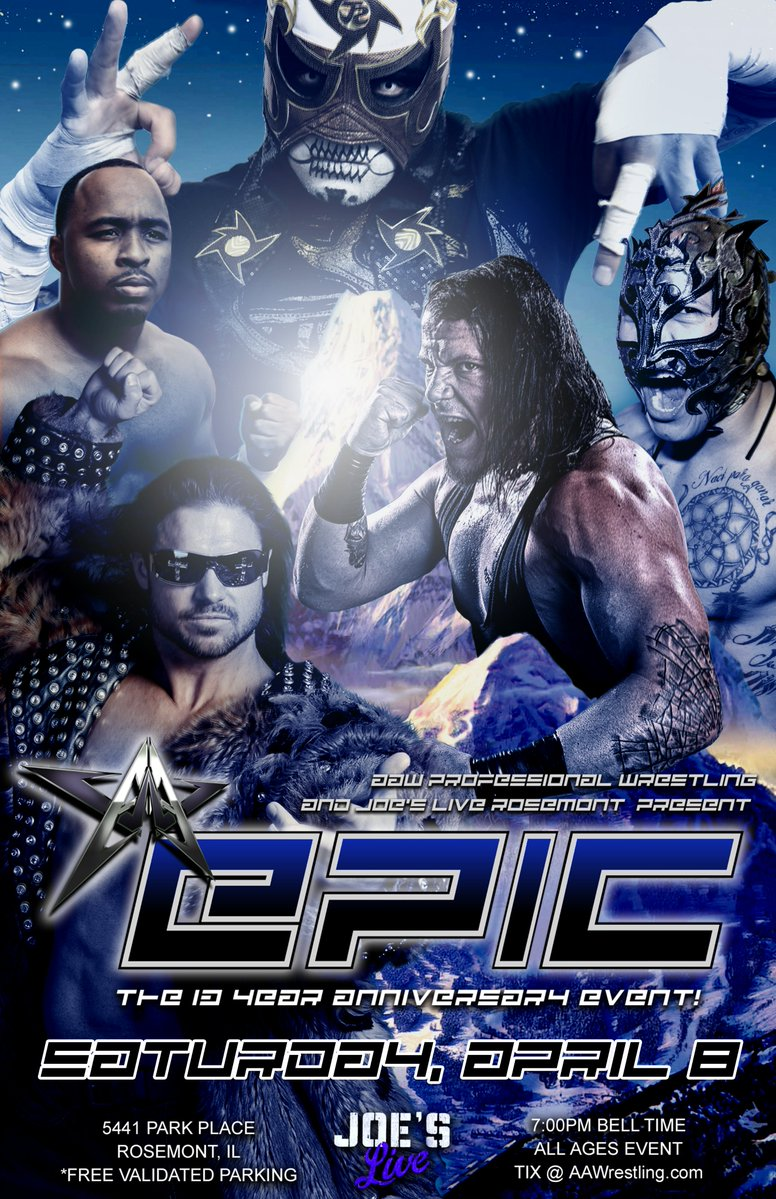 Poster for AAW Epic 2017