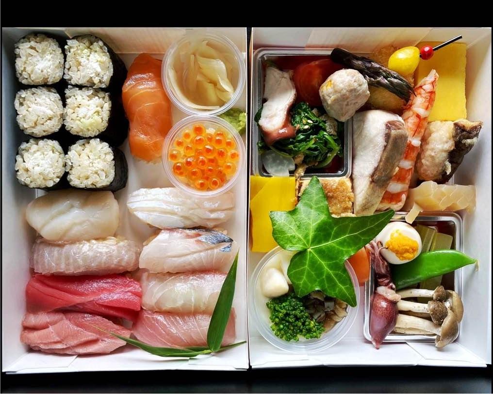 Sushi bento from Shunji