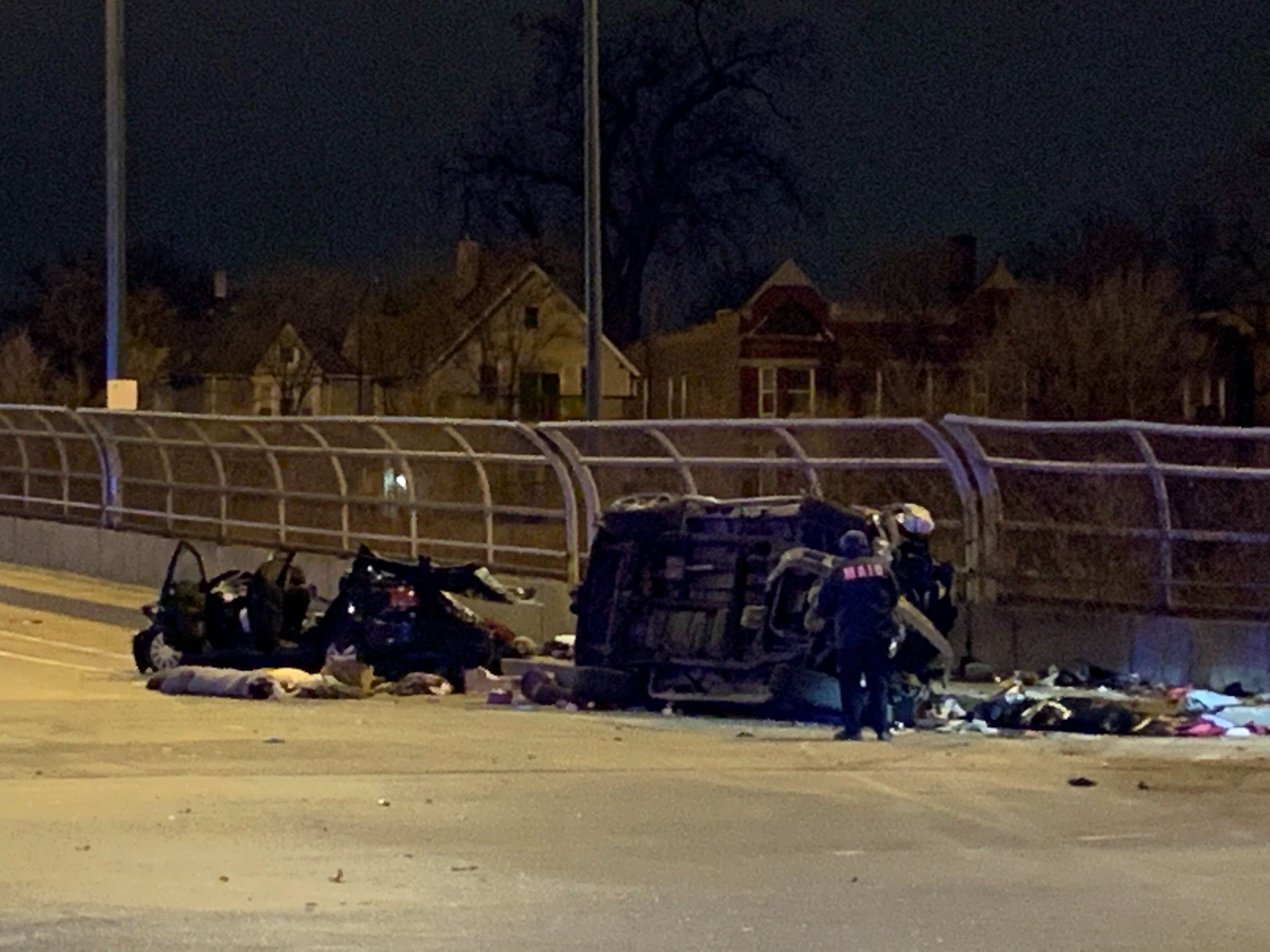 A teenage girl and a man were killed in a crash April 16, 2020, in the 6900 block of South State Street in Park Manor.