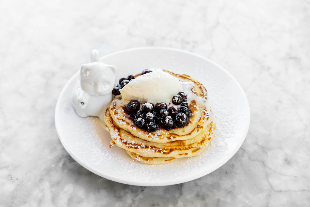 Pancakes from Launderette