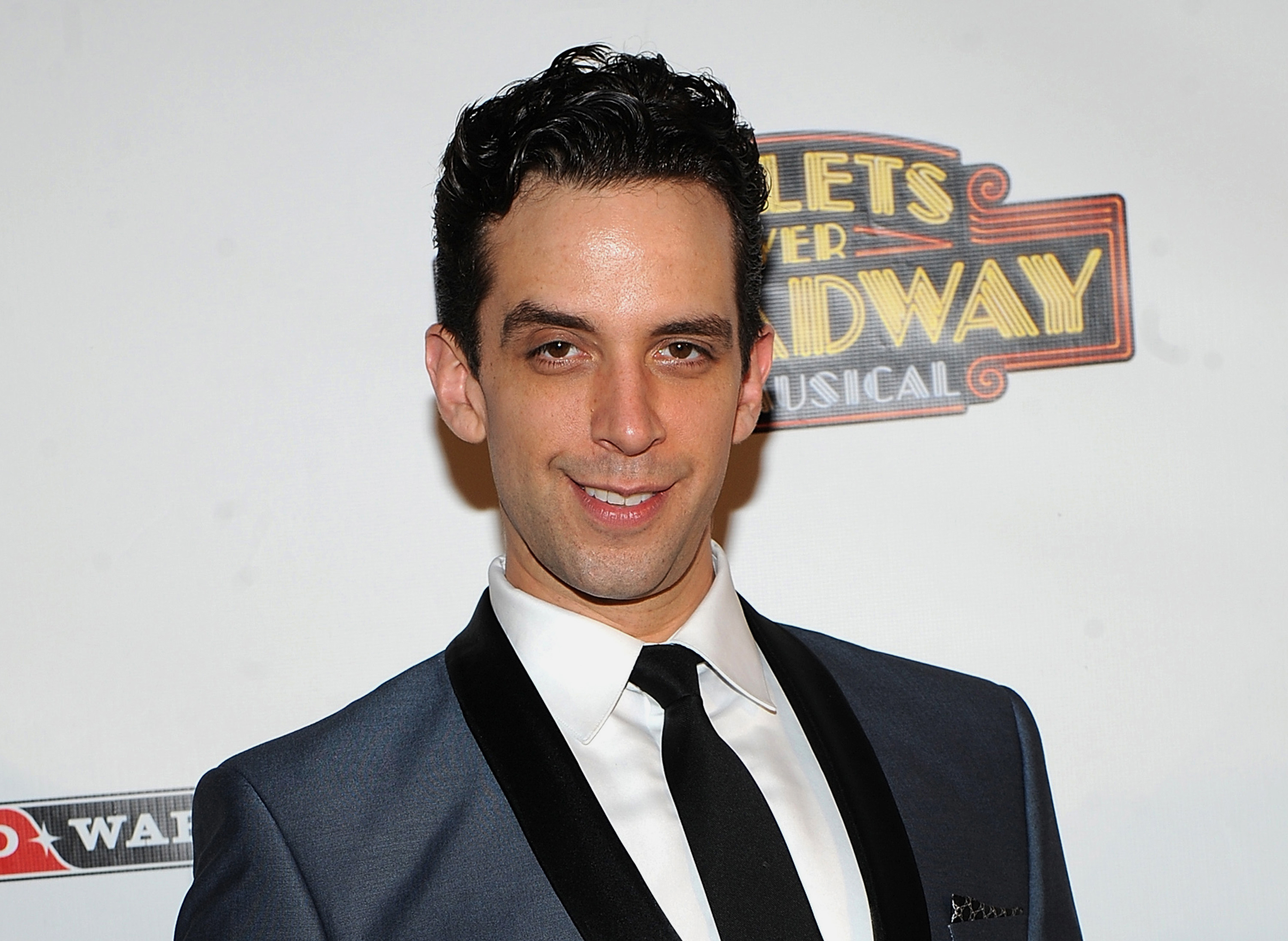 "Actor Nick Cordero attends the after party for the opening night of ""Bullets Over Broadway"" in New York in 2014."