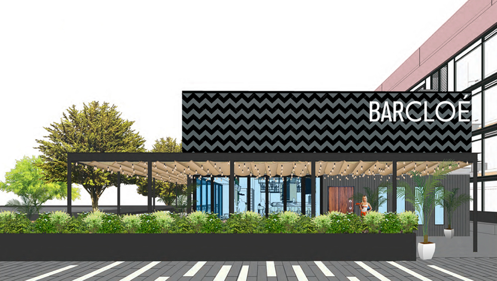 Rendering of restaurateur and famed chef Charlie Palmer's Bar Cloé, headed to the Arts District.