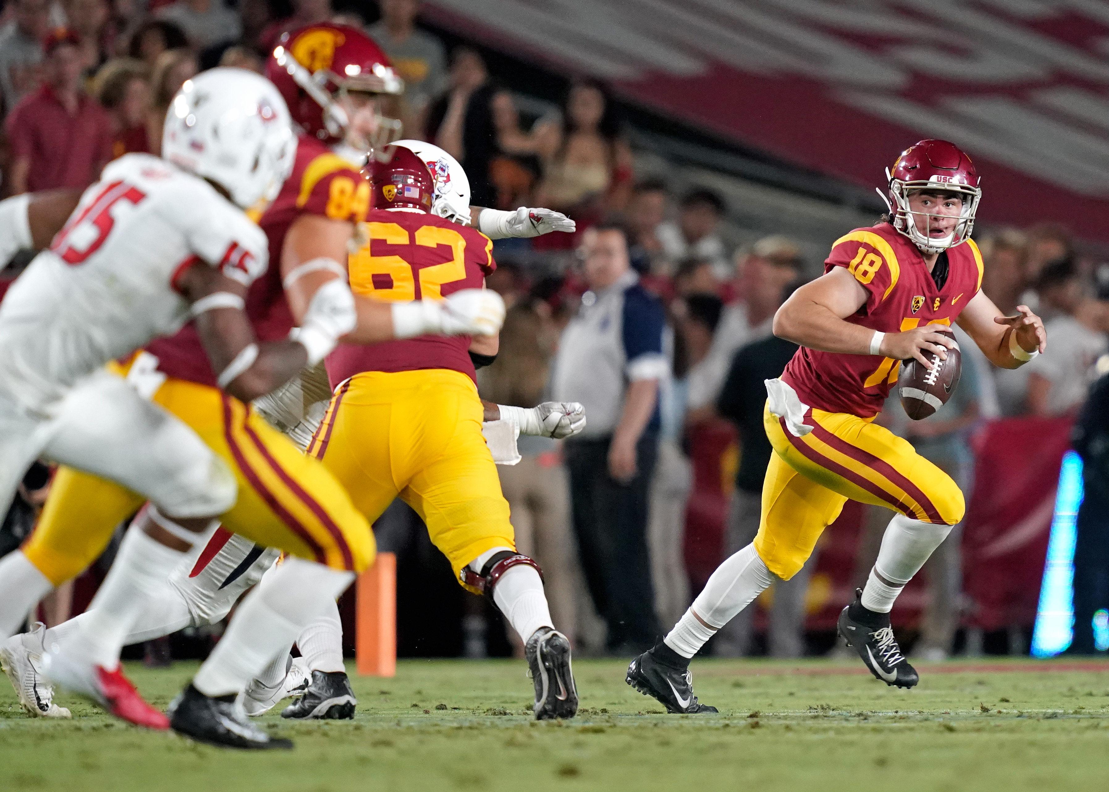 NCAA Football: Fresno State at Southern California